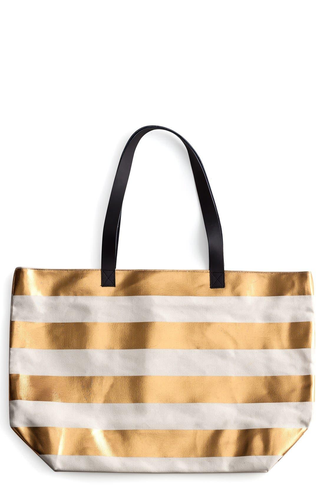 Stripe Tote,                         Main,                         color,