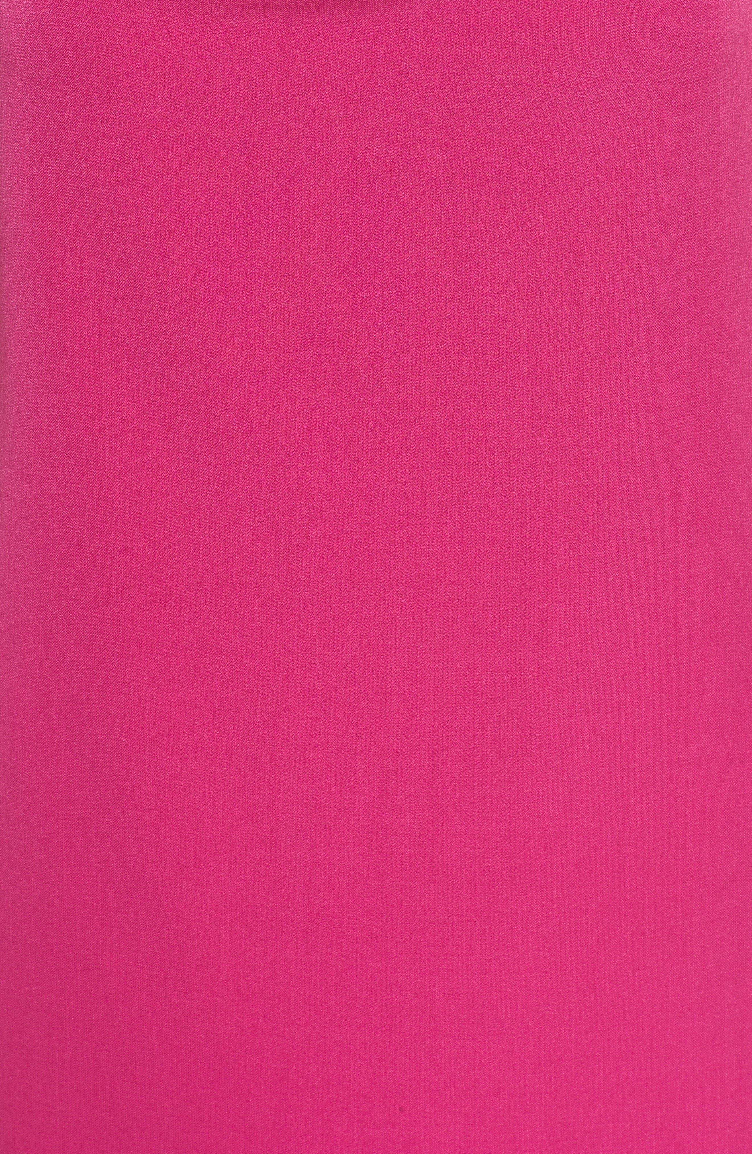 Cowl Neck Sheath Dress,                             Alternate thumbnail 10, color,