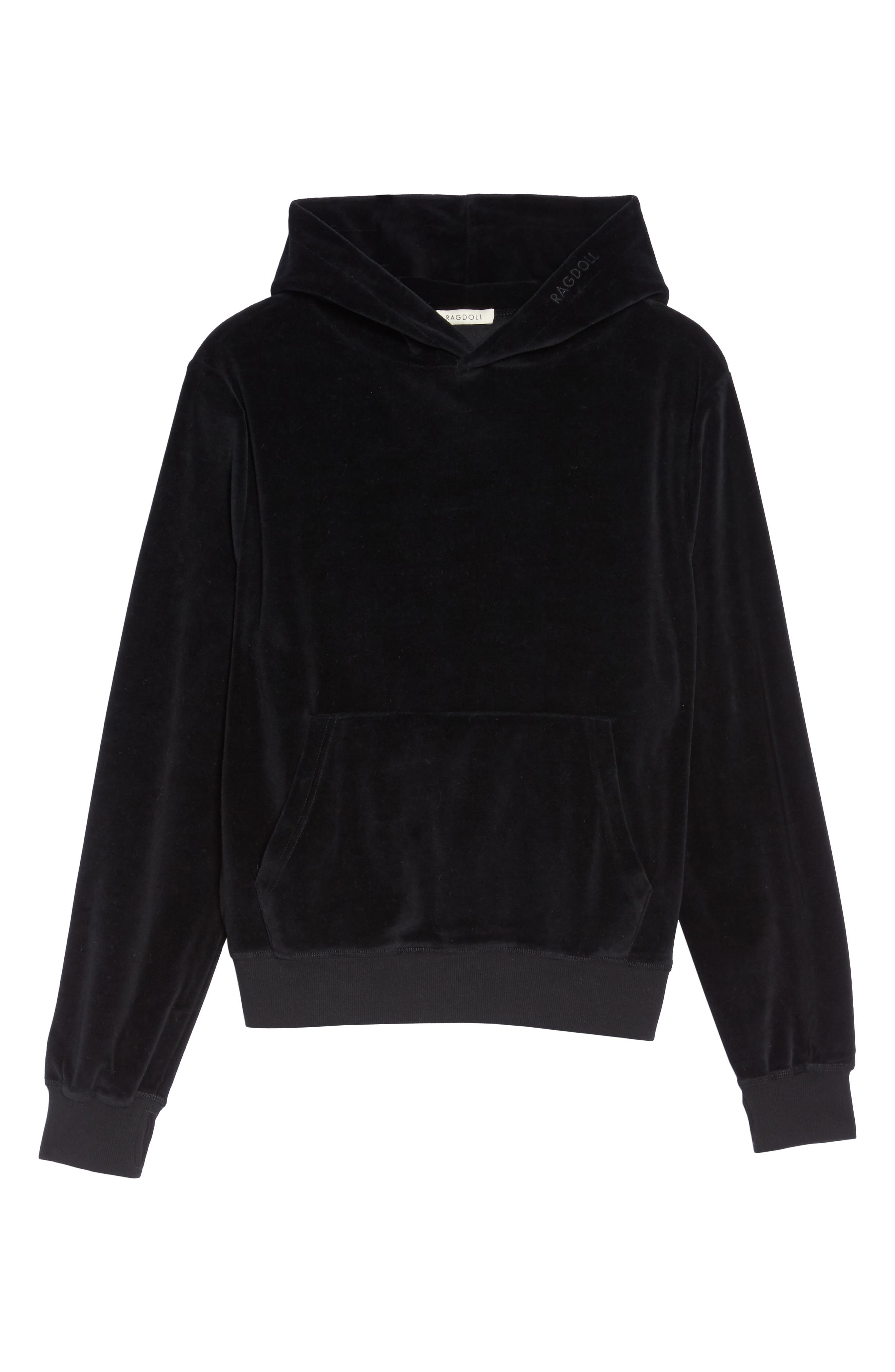 Pullover Hoodie,                             Alternate thumbnail 6, color,                             001