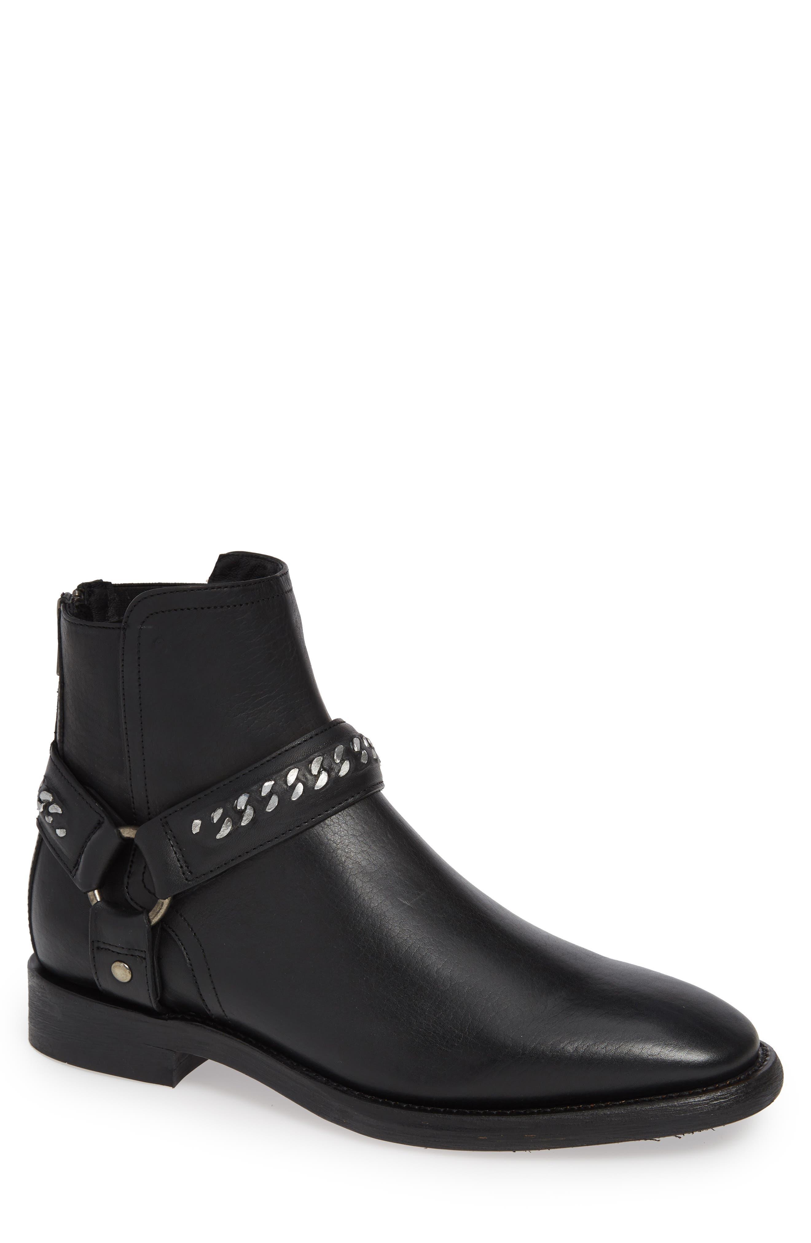 Chelsea Boot,                             Main thumbnail 1, color,                             BLACK