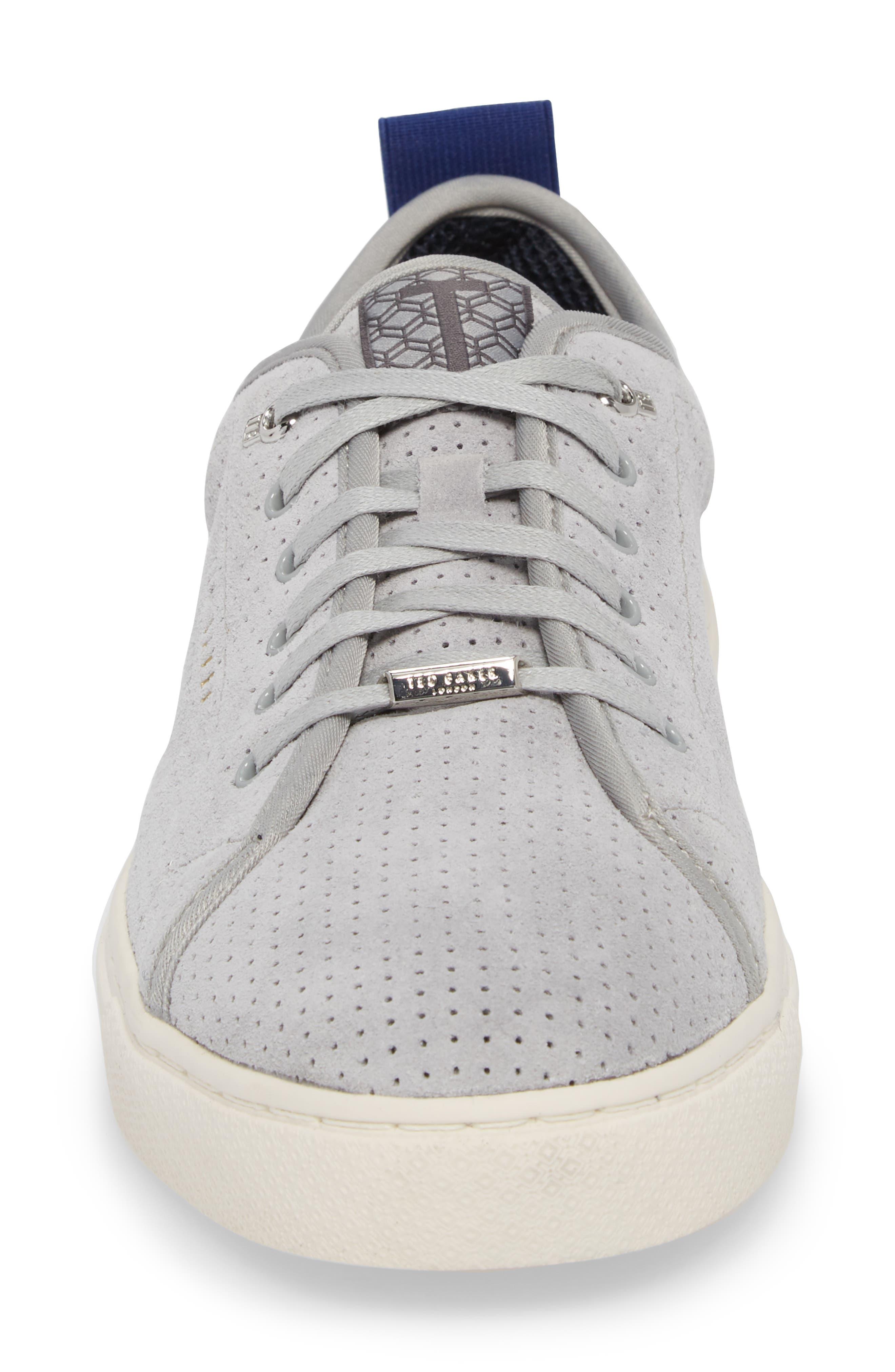 Kaliix Perforated Low Top Sneaker,                             Alternate thumbnail 4, color,                             070