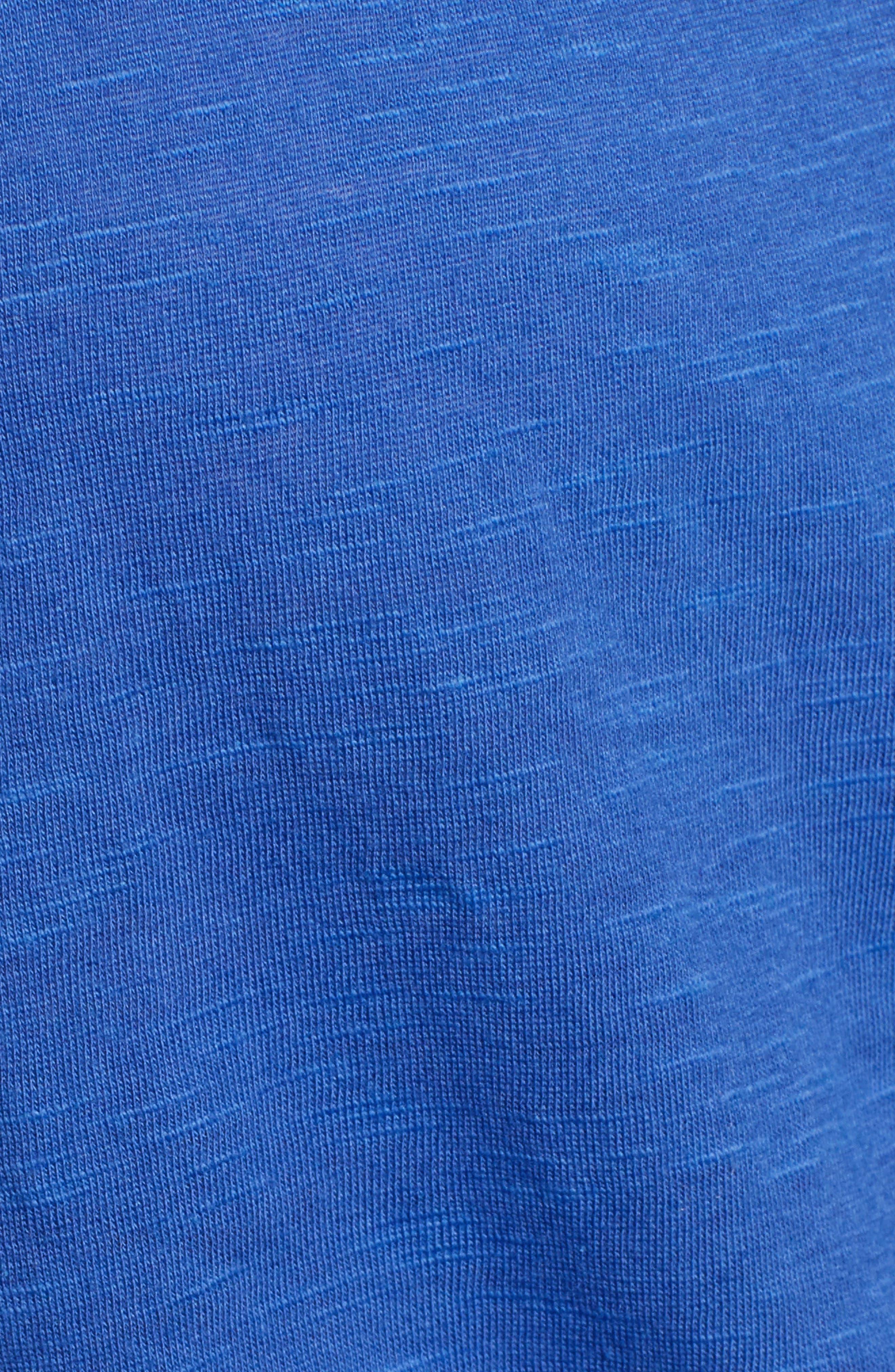 CASLON<SUP>®</SUP>,                             Faux Wrap Top,                             Alternate thumbnail 5, color,                             BLUE MAZARINE