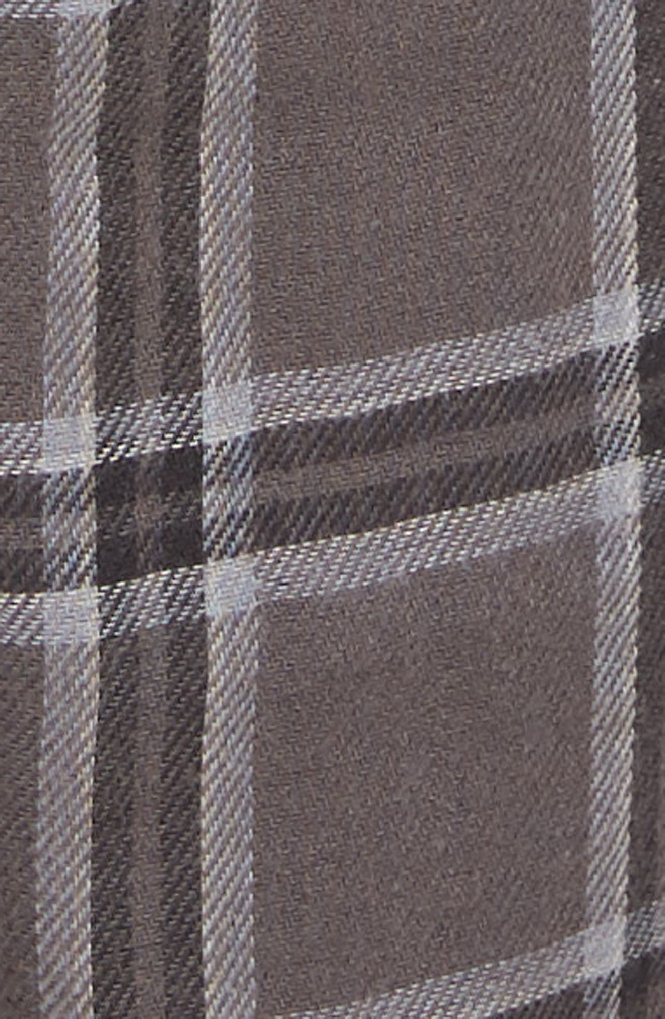 Grant Pajama Set,                             Alternate thumbnail 5, color,                             CHARCOAL/ BLACK