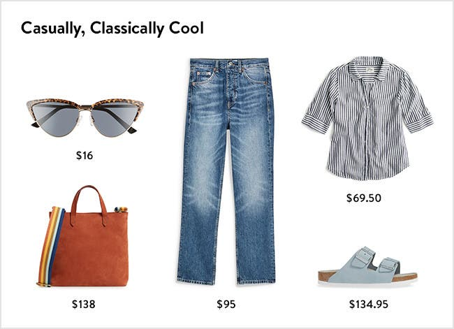 Casually, classically cool women's clothing, accessories, shoes and more.