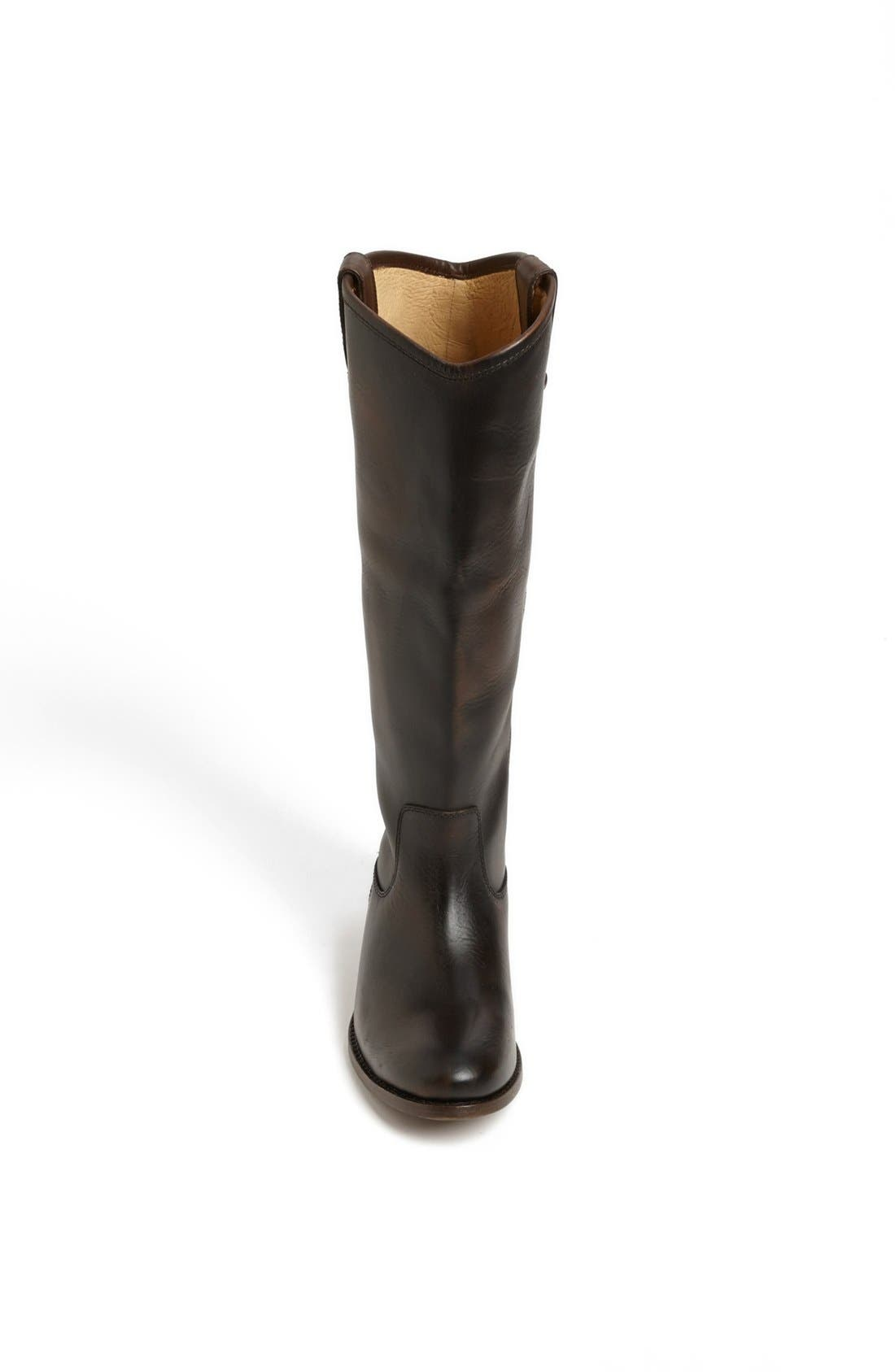 'Melissa Button' Leather Riding Boot,                             Alternate thumbnail 75, color,