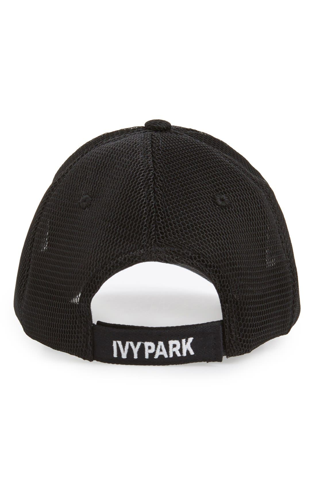 Airtex Mesh Baseball Cap,                             Alternate thumbnail 2, color,