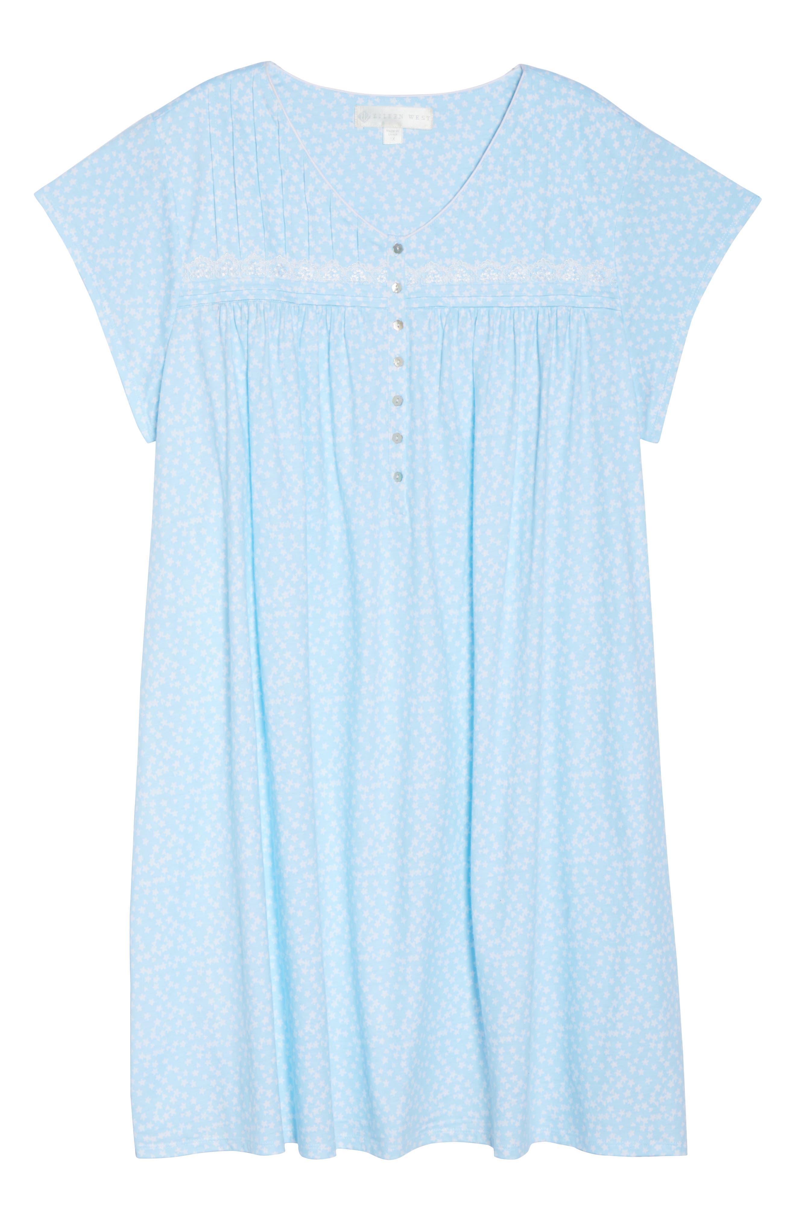 Short Nightgown,                             Alternate thumbnail 17, color,
