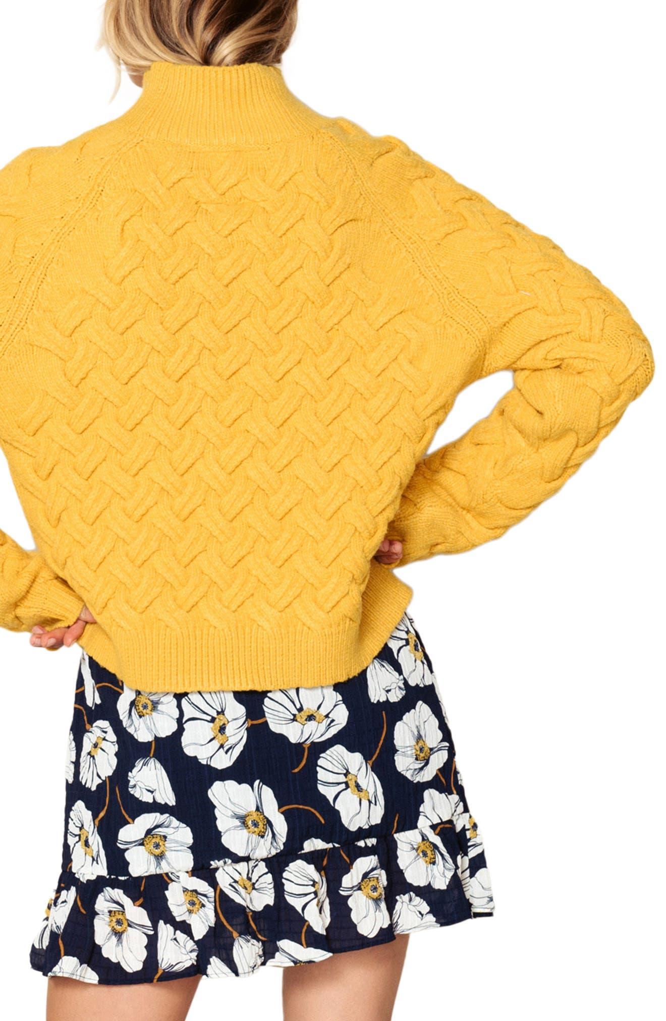 Adele Sweater,                             Alternate thumbnail 2, color,                             BUTTERSCOTCH