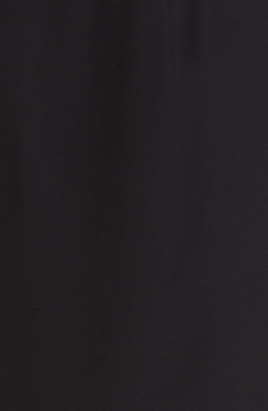 Asymmetrical Mixed Media Skirt,                             Alternate thumbnail 7, color,                             001