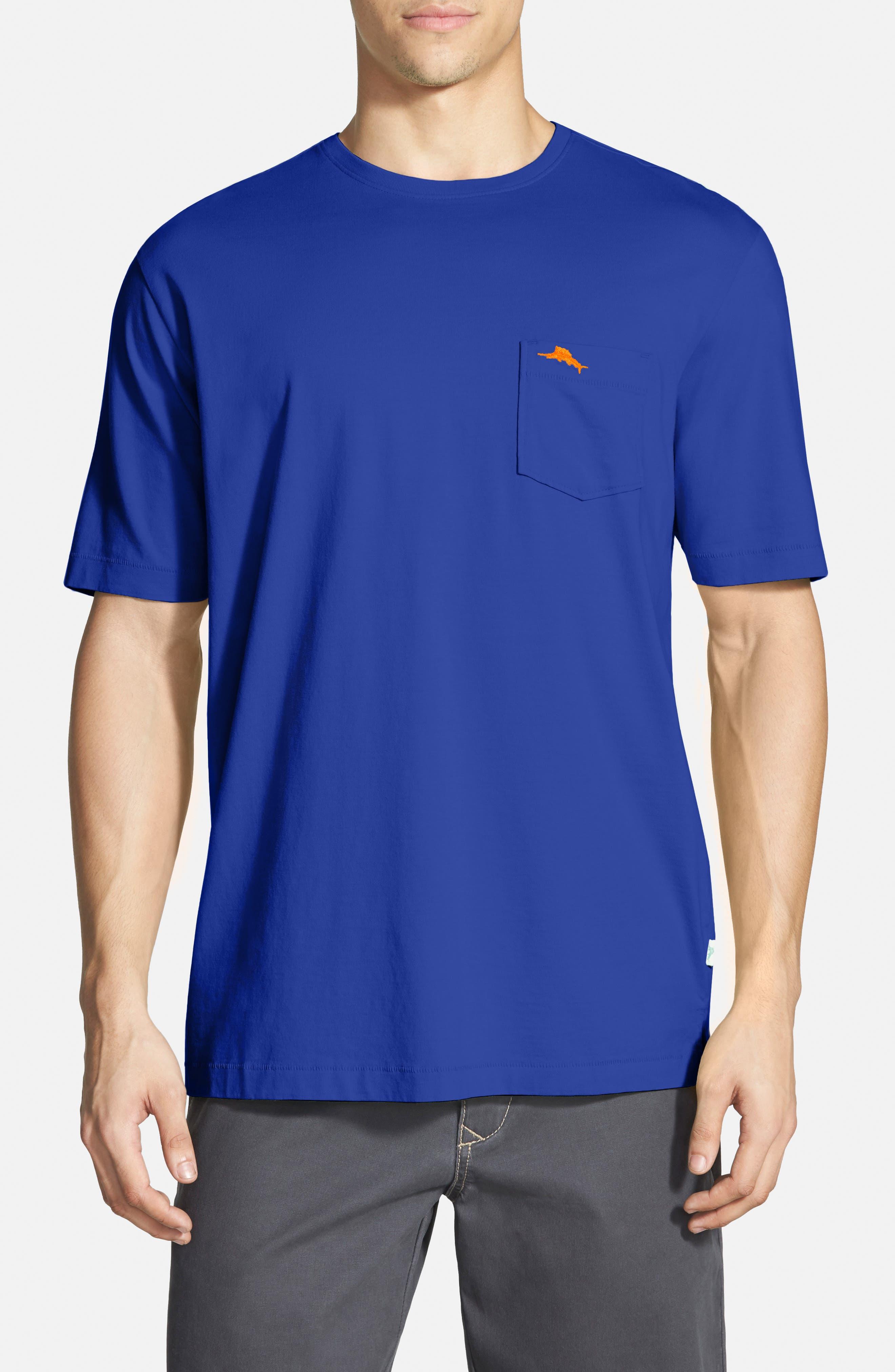 New Bali Sky Pima Cotton Pocket T-Shirt,                             Main thumbnail 38, color,