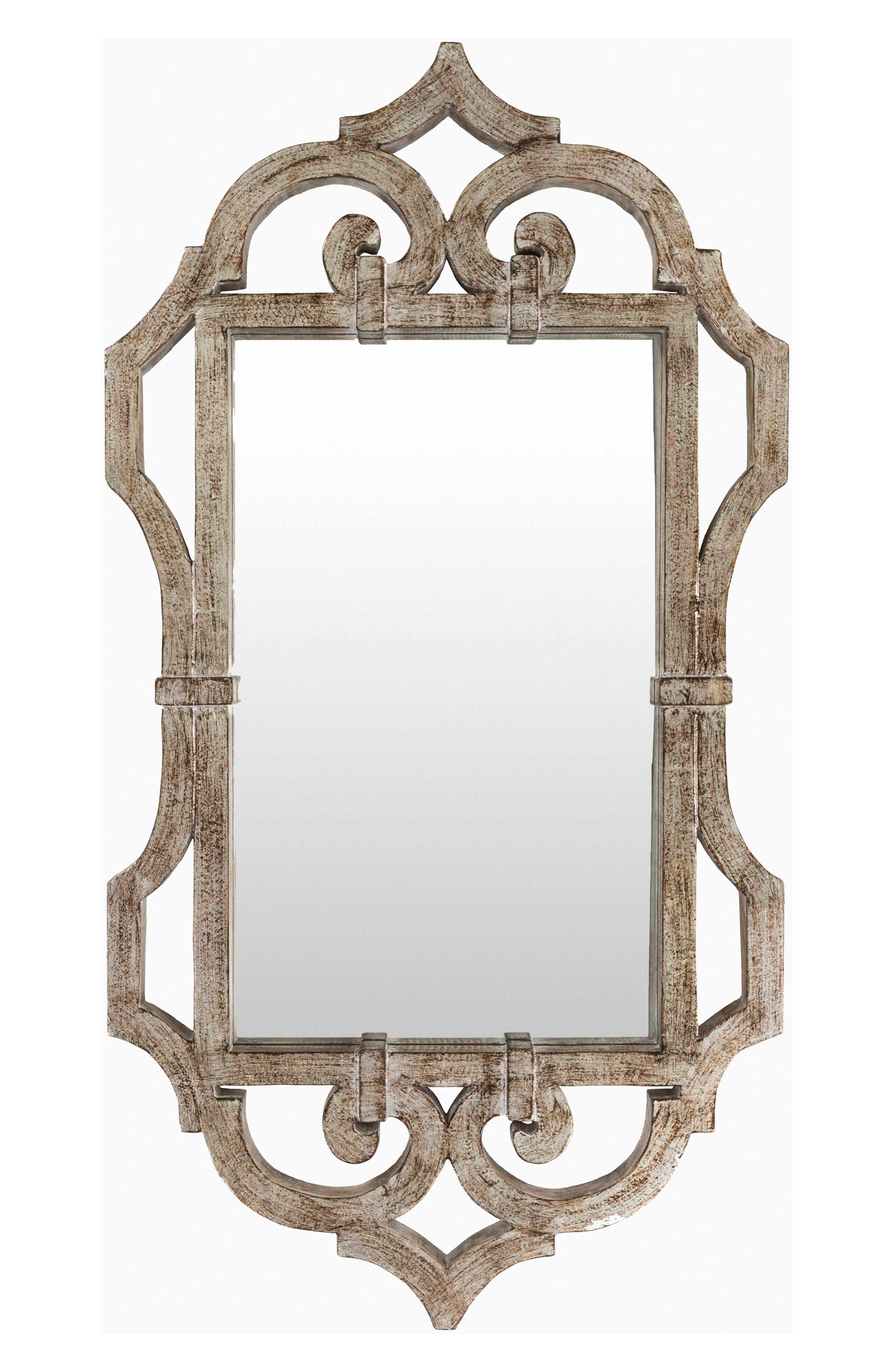 Lalita Mirror, Main, color, SILVER