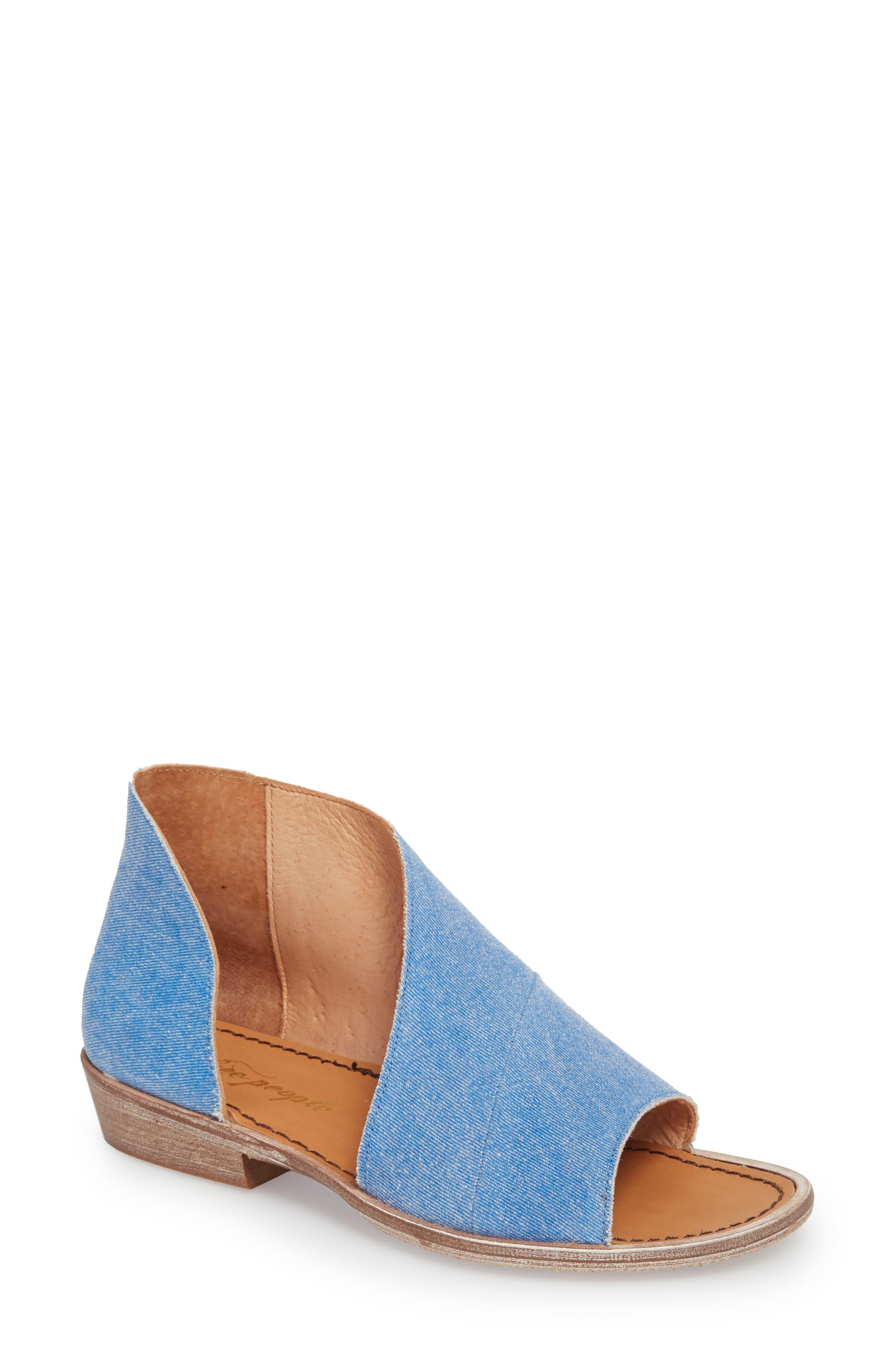 'Mont Blanc' Asymmetrical Sandal,                             Main thumbnail 5, color,