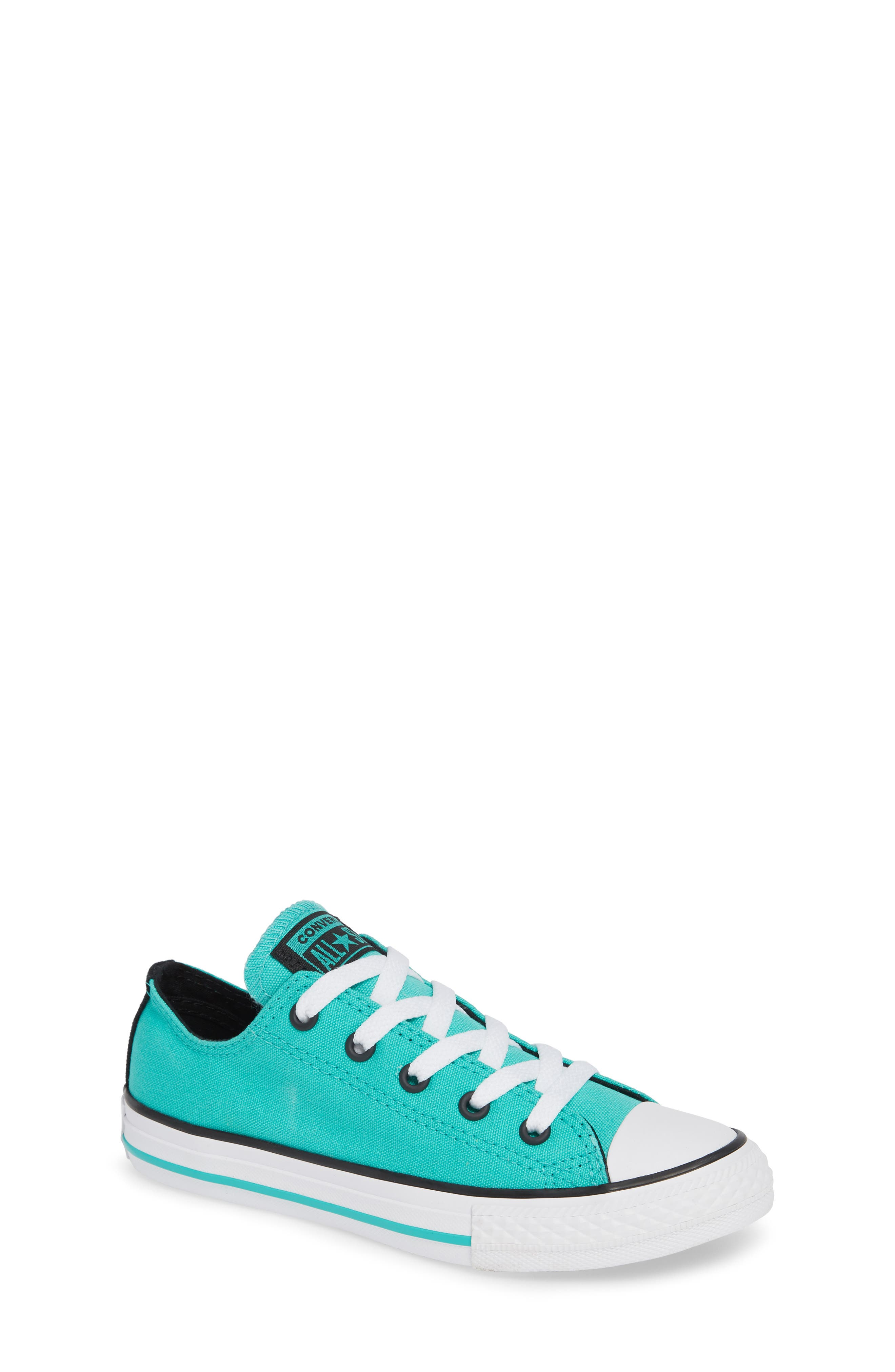 Chuck Taylor<sup>®</sup> Sneaker,                         Main,                         color, PURE TEAL
