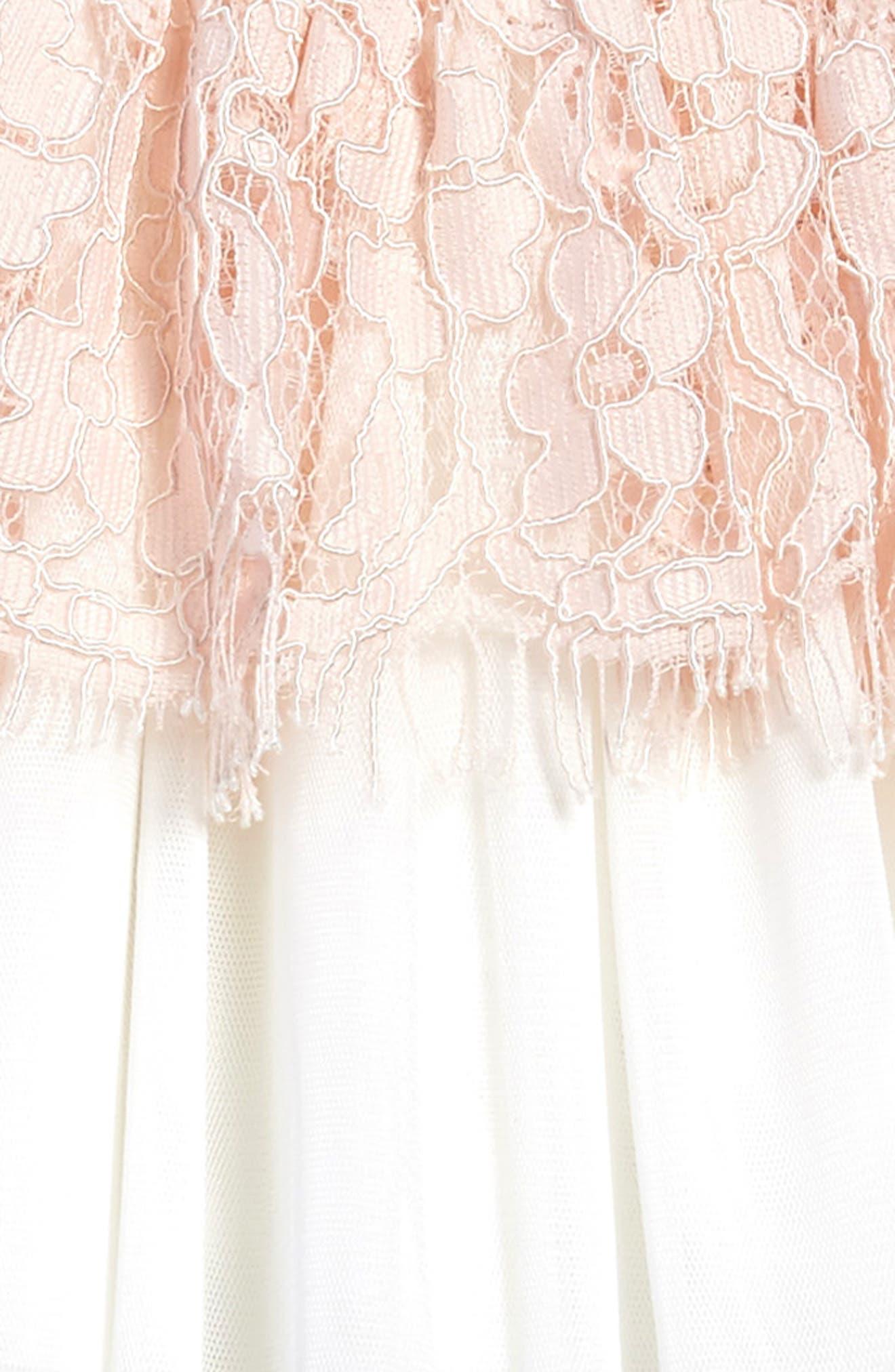 Lace Dress,                             Alternate thumbnail 3, color,                             695
