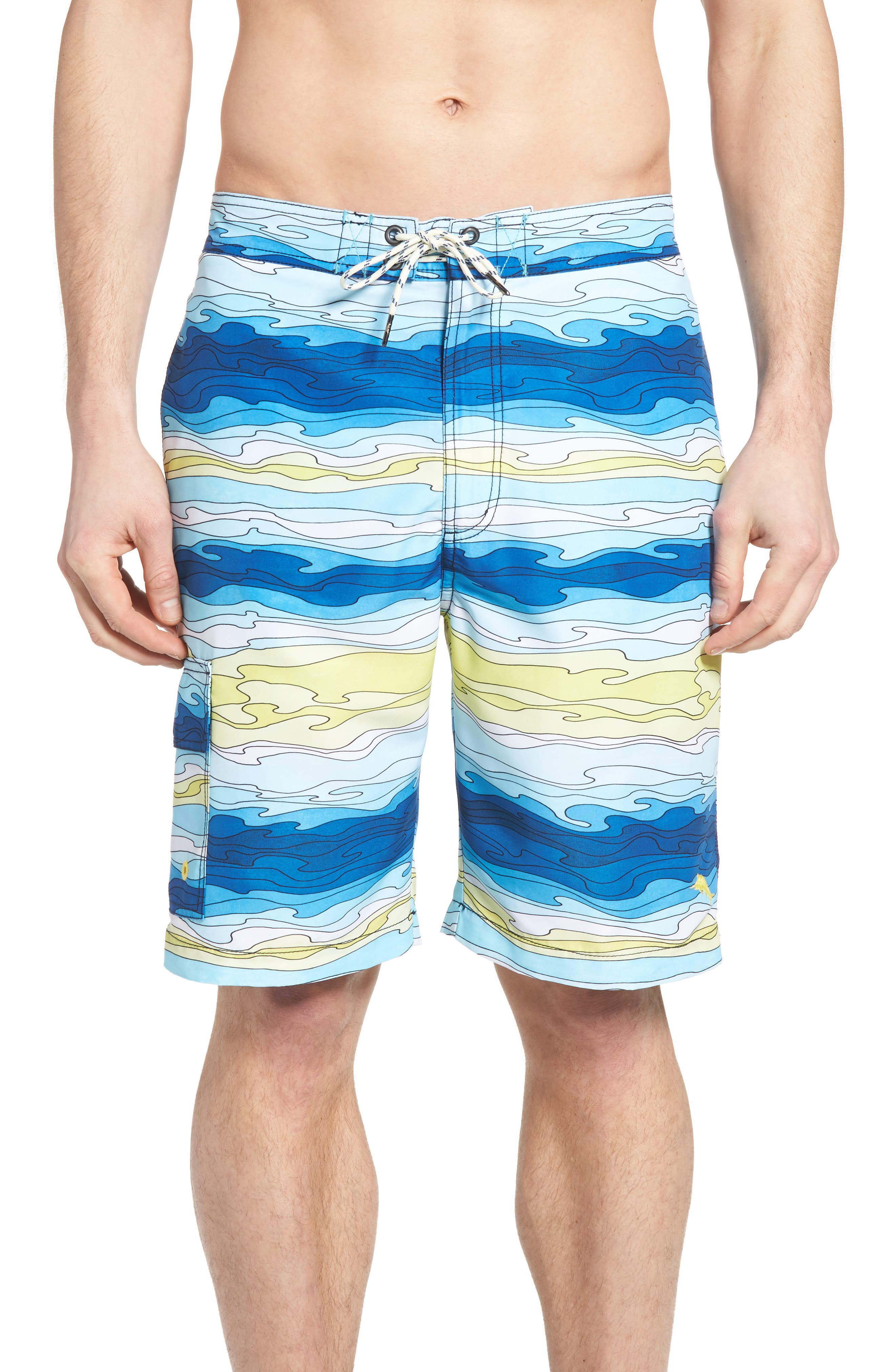 Baja Aegean Swim Trunks,                             Main thumbnail 1, color,                             400