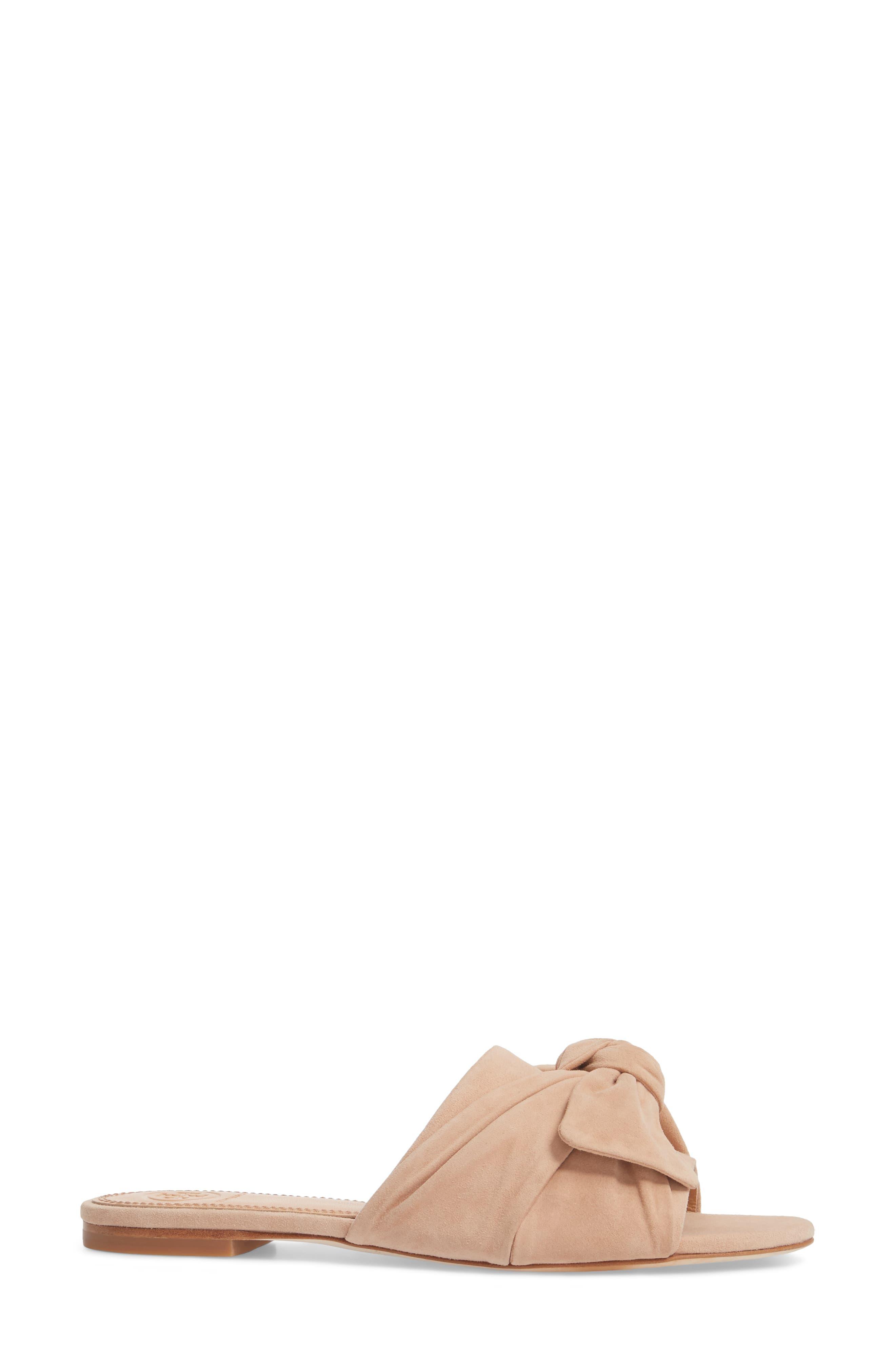 Annabelle Bow Slide Sandal,                             Alternate thumbnail 9, color,