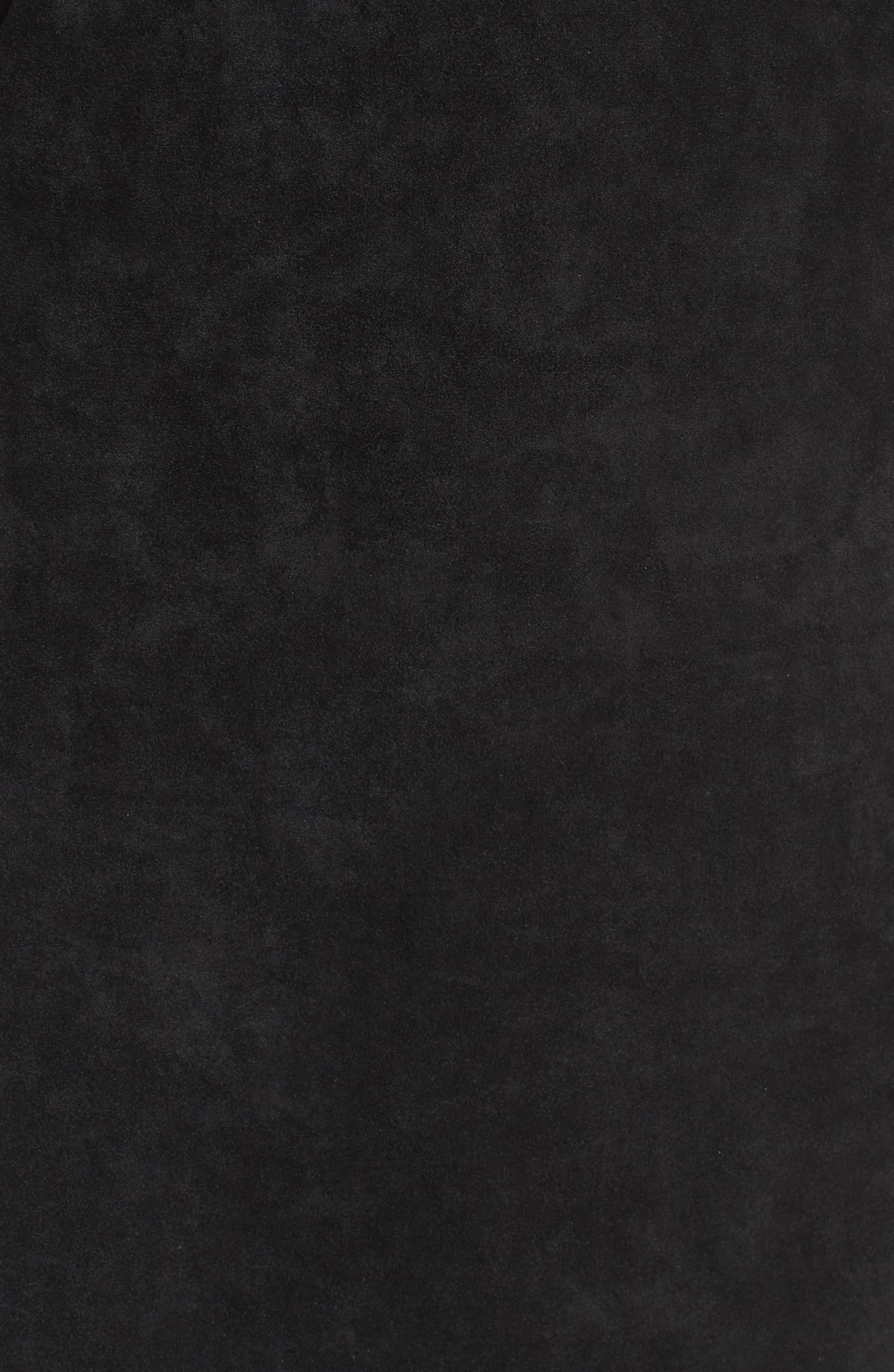 Deane Cold Shoulder Sheath Dress,                             Alternate thumbnail 5, color,                             001