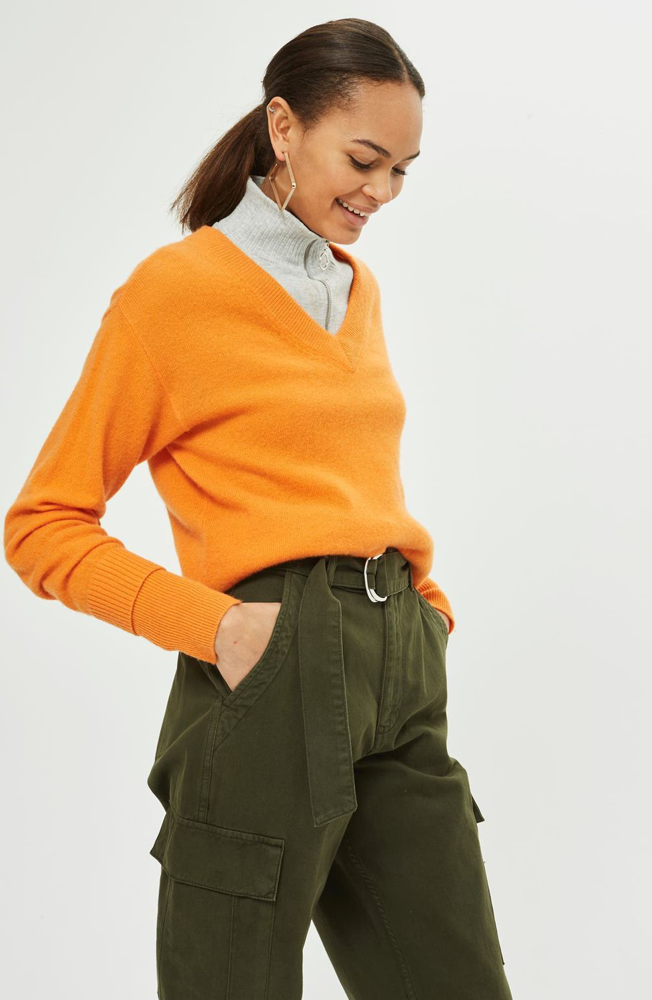 Combat Pocket Utility Trousers,                             Alternate thumbnail 4, color,                             310