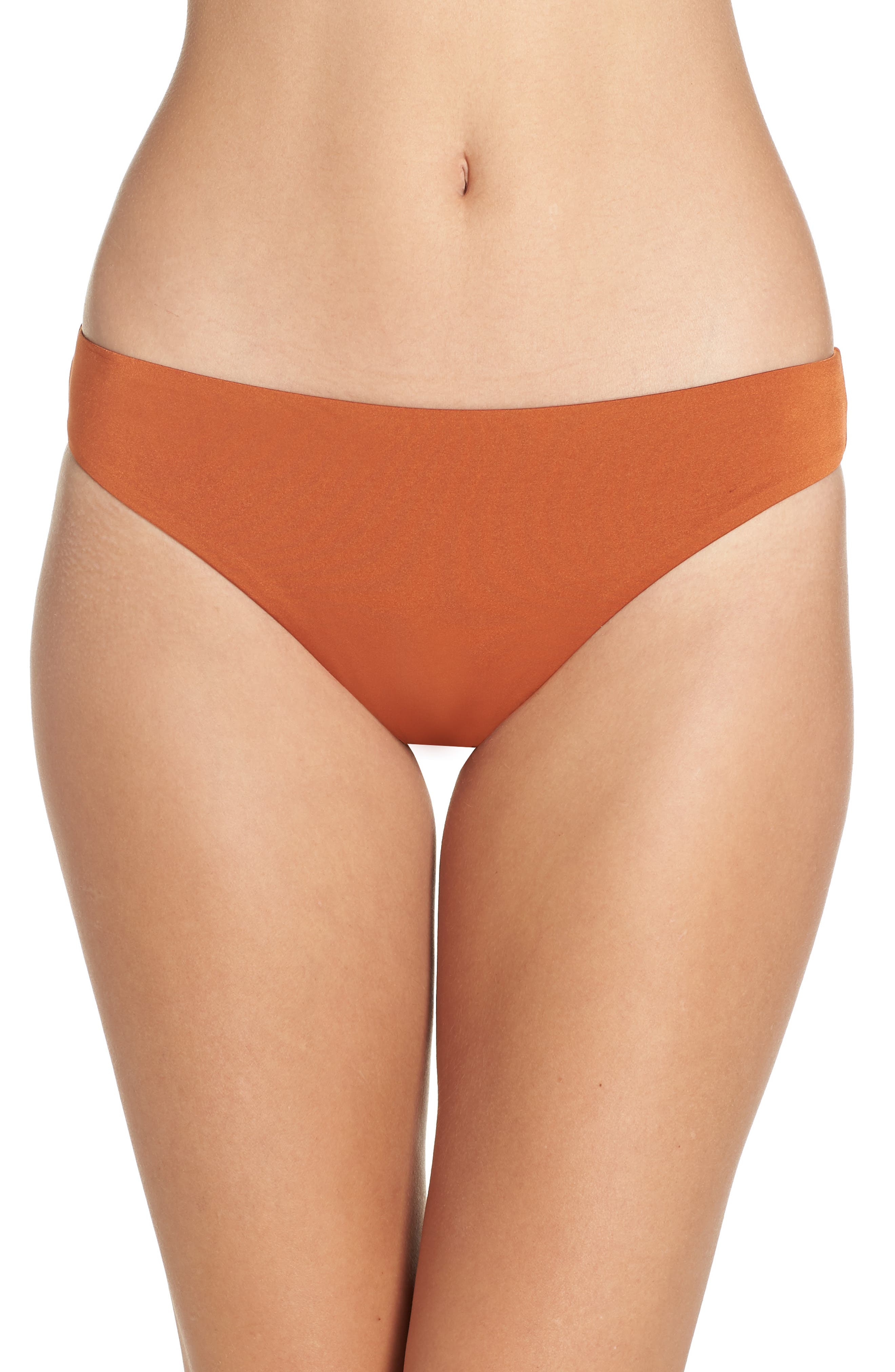 Route 66 Hipster Bikini Bottoms,                             Main thumbnail 1, color,                             SIENNA