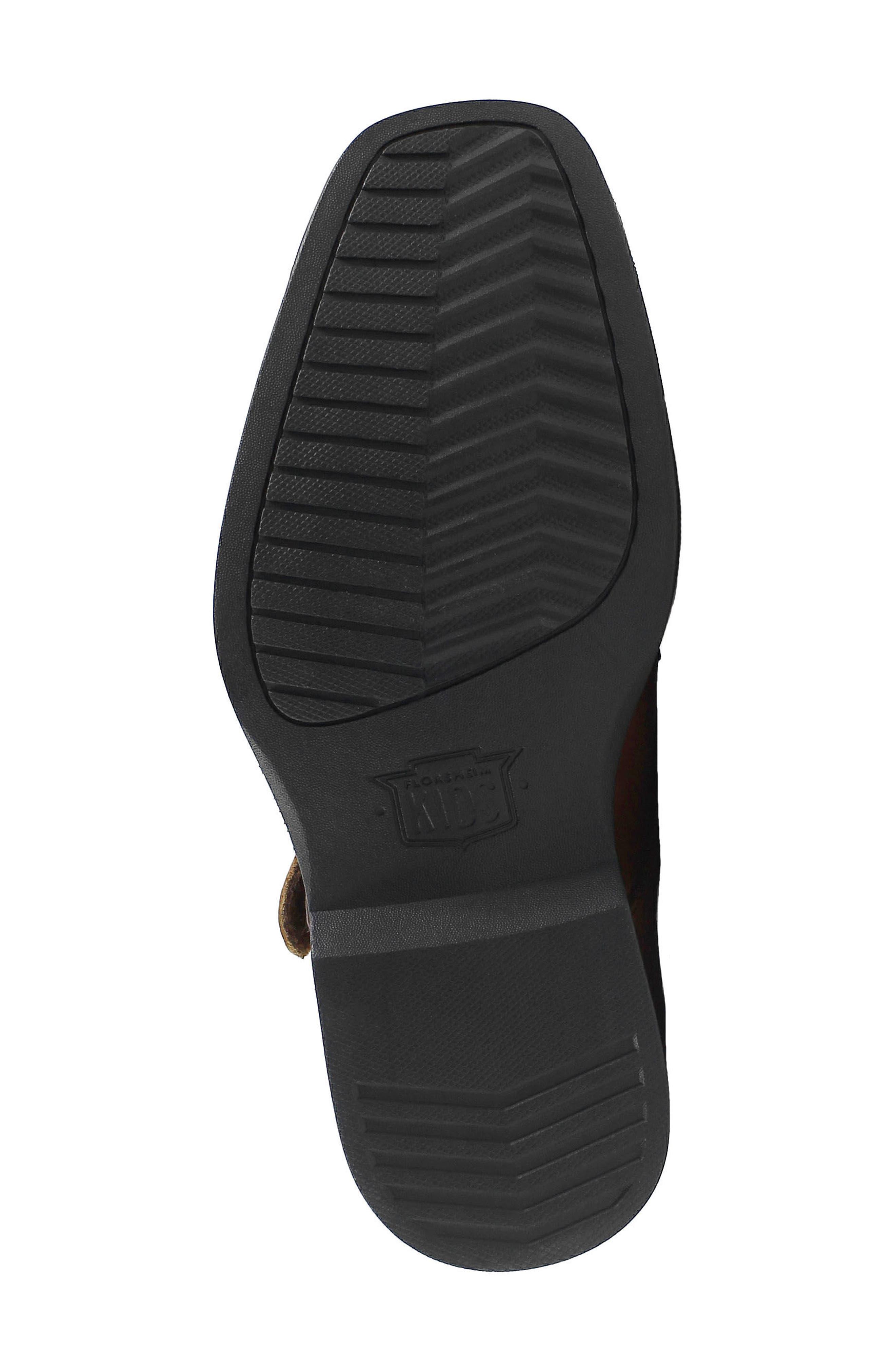 Reveal Double Monk Strap Shoe,                             Alternate thumbnail 6, color,                             COGNAC LEATHER
