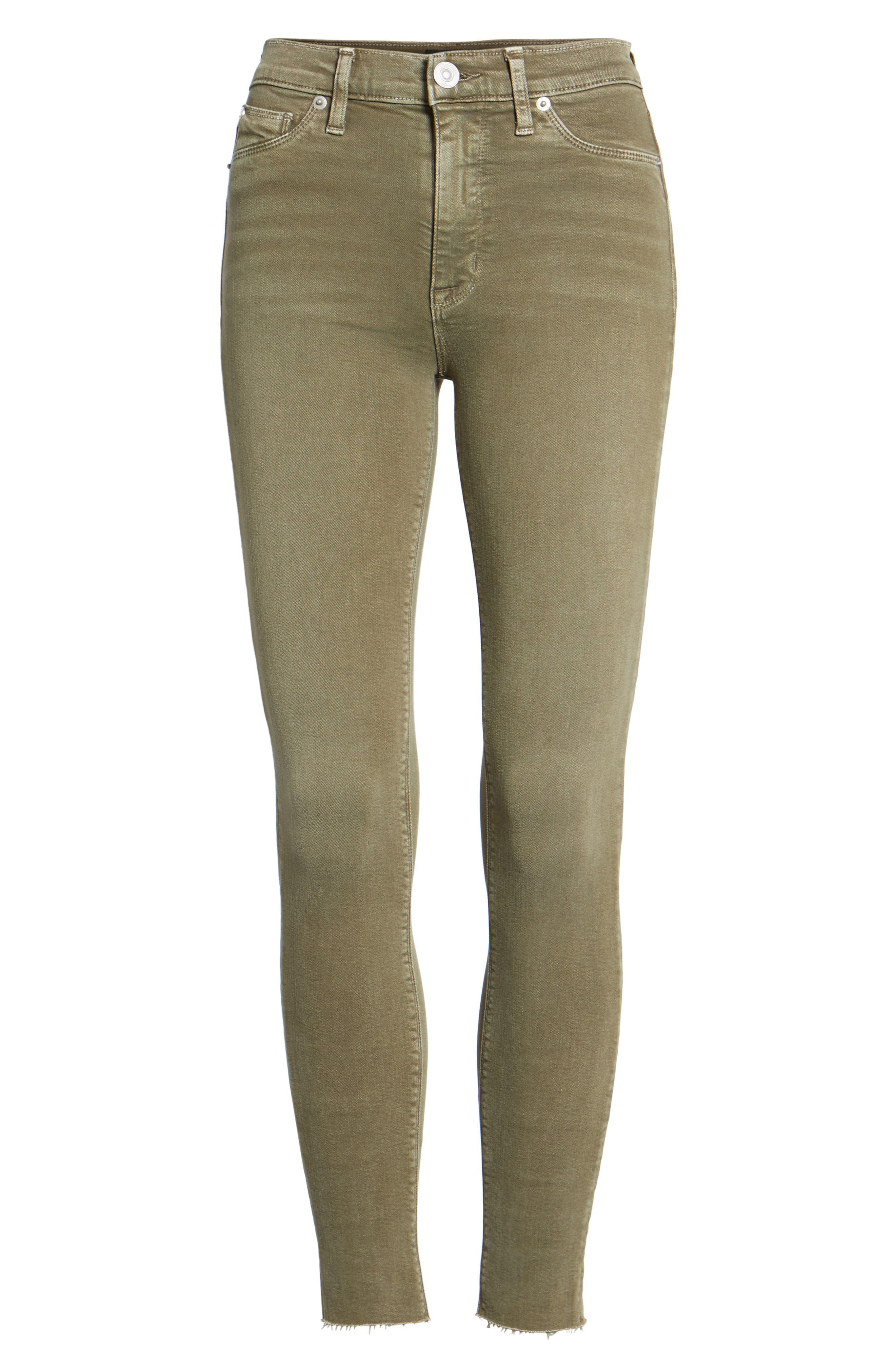 Barbara High Waist Ankle Skinny Jeans,                             Alternate thumbnail 22, color,