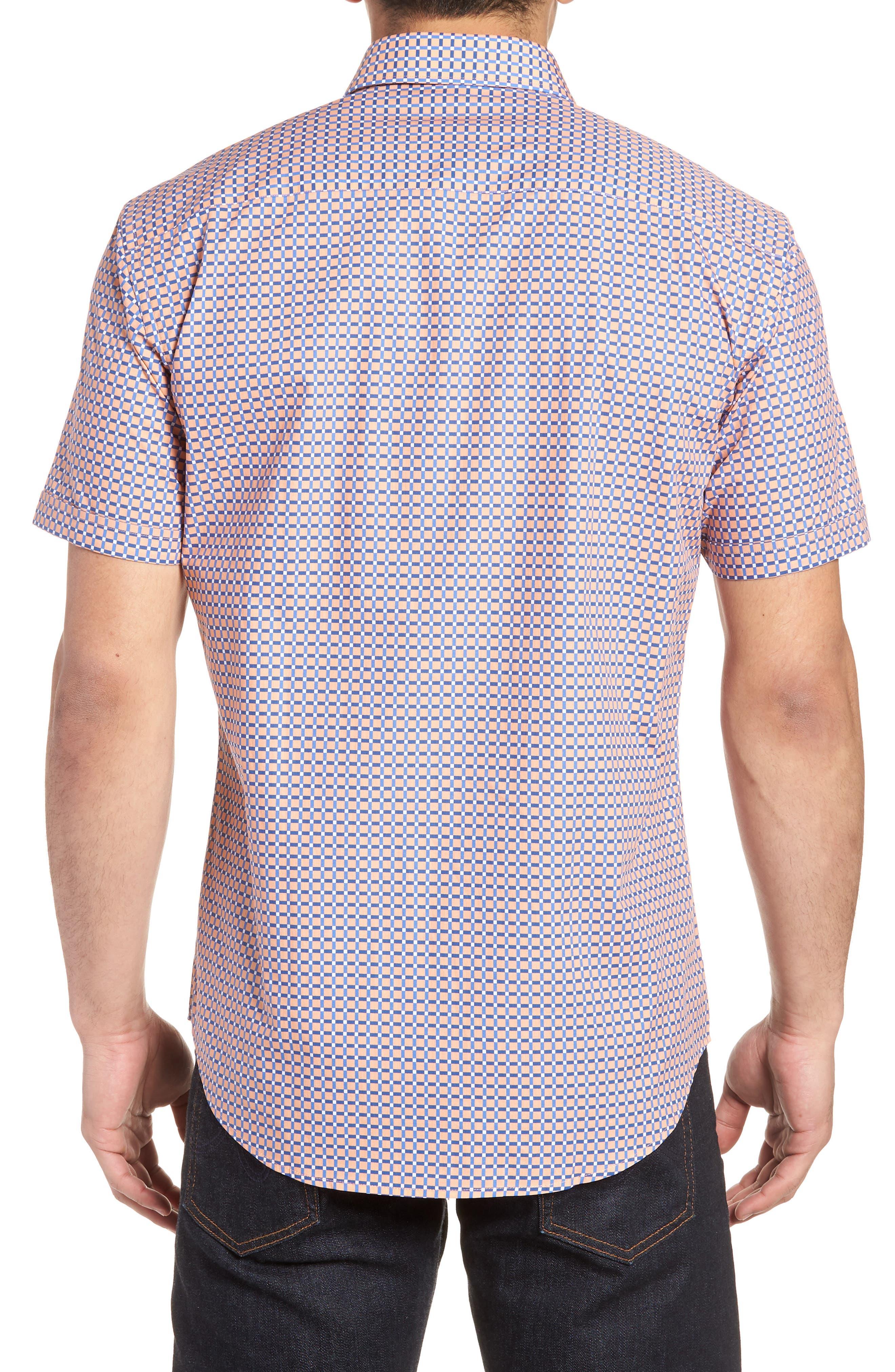 Woven Sport Shirt,                             Alternate thumbnail 2, color,                             950