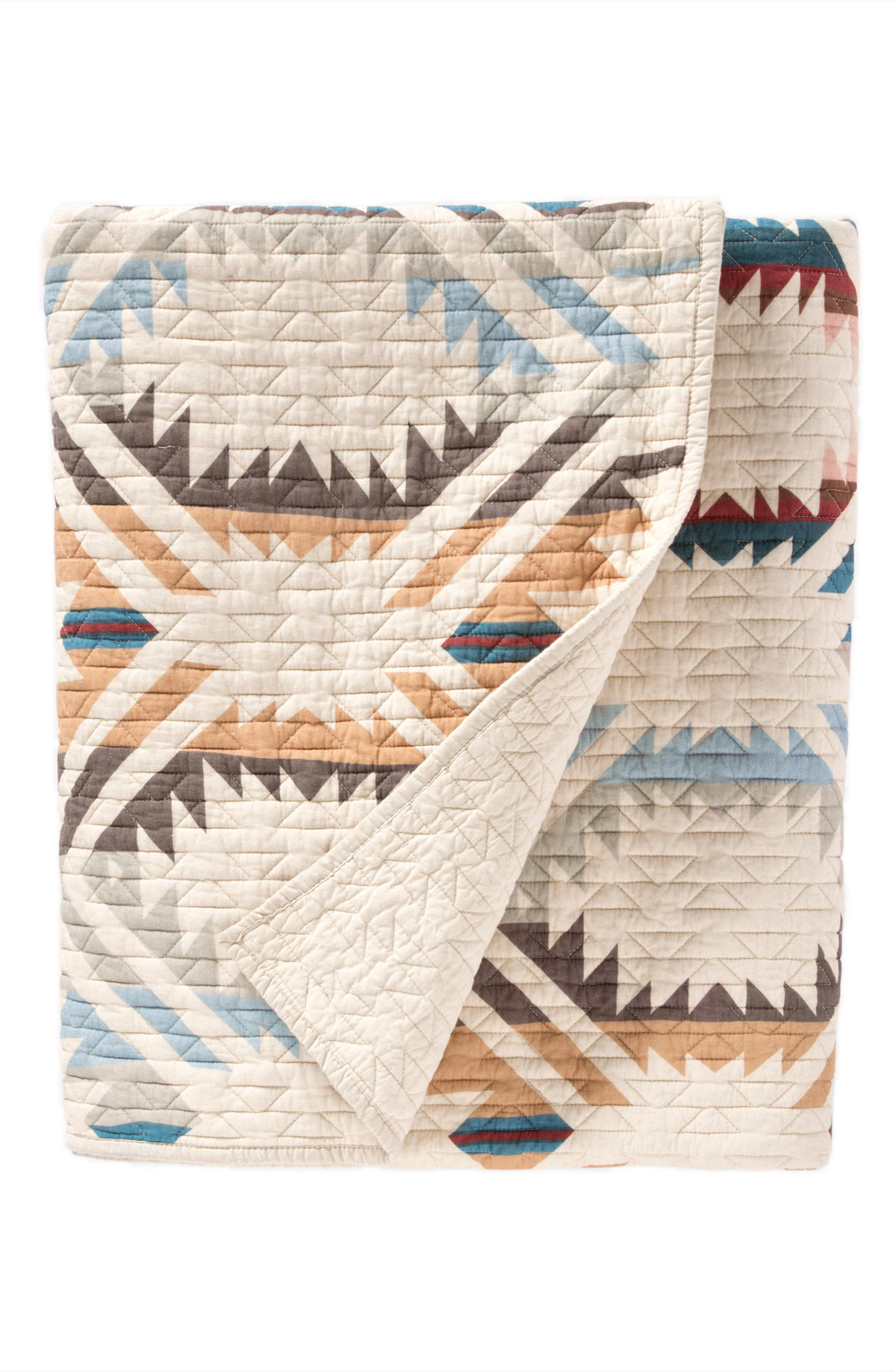 White Sands Quilt & Sham Set,                             Alternate thumbnail 2, color,                             SAND SHELL