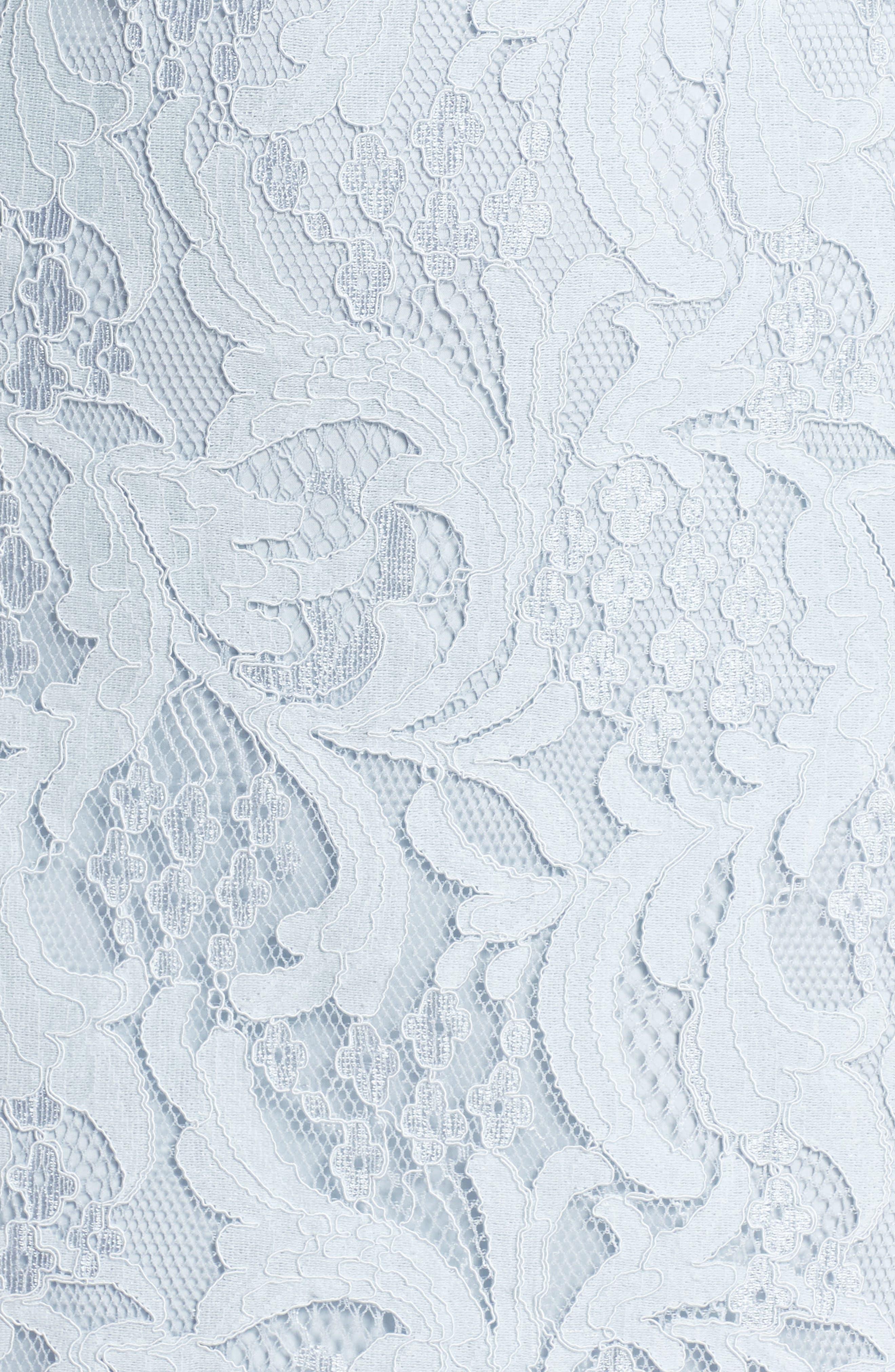 Delilah Lace Sheath Dress,                             Alternate thumbnail 11, color,