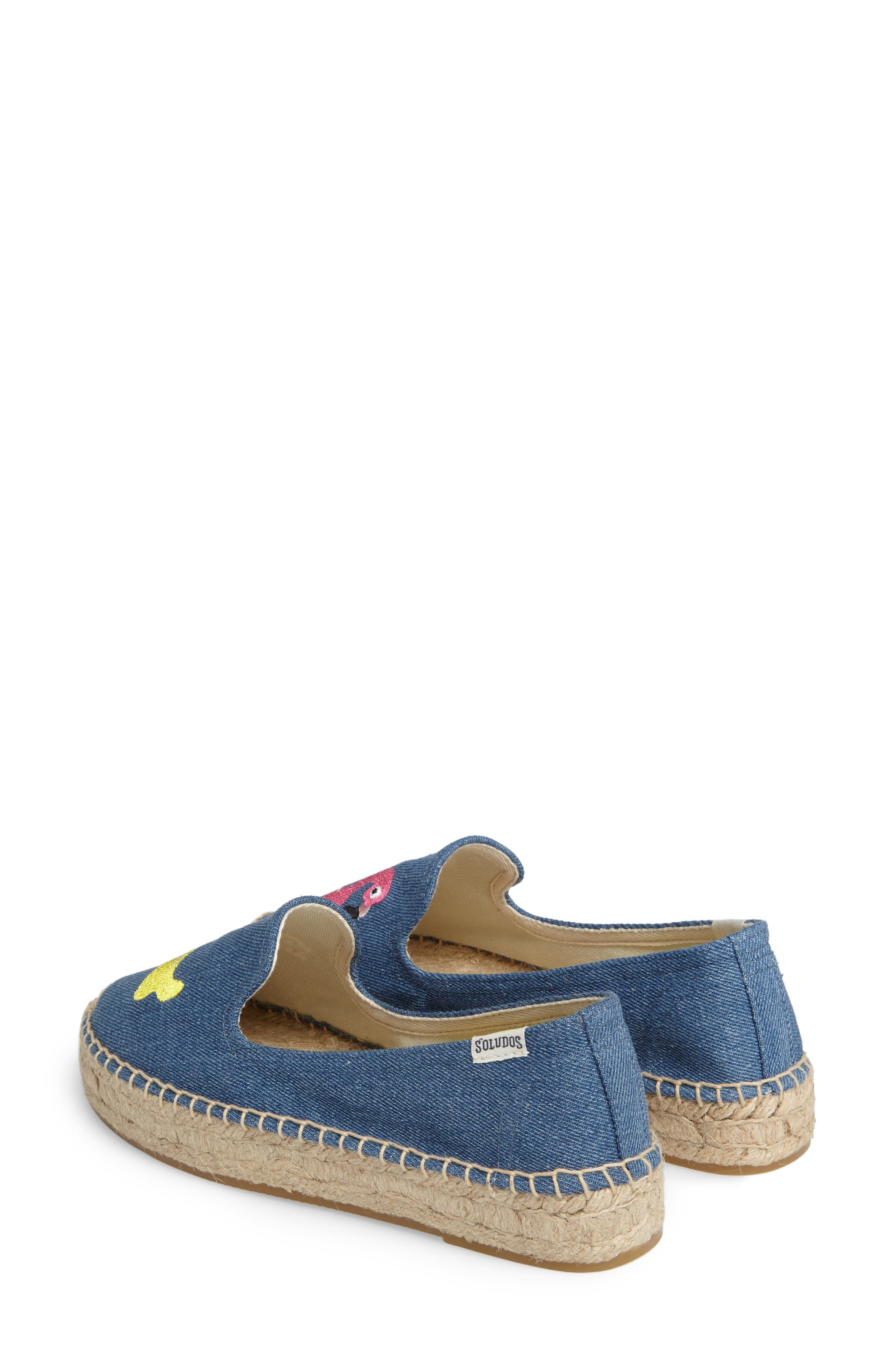 Embroidered Espadrille,                             Alternate thumbnail 3, color,
