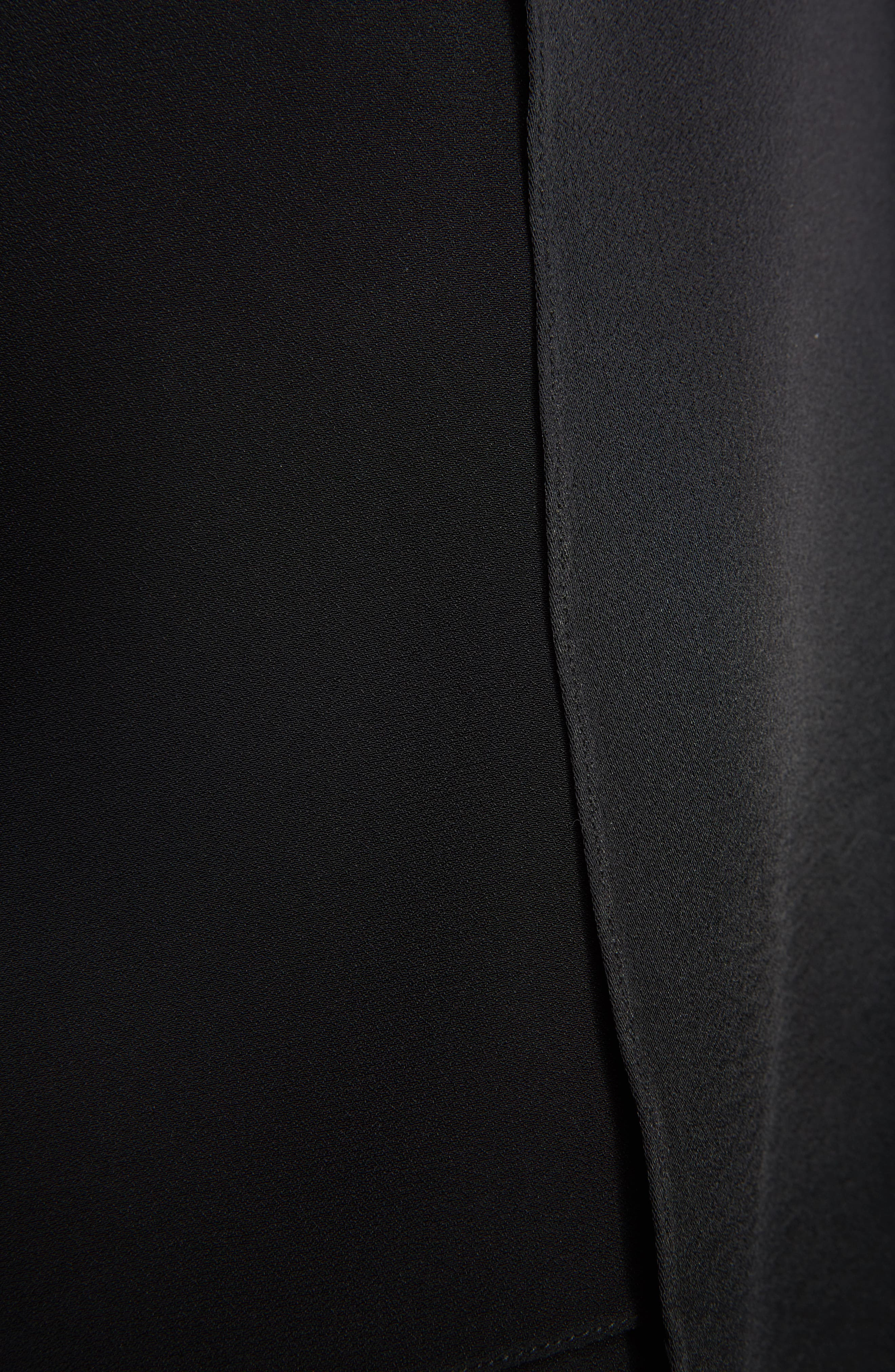 Layered Miniskirt,                             Alternate thumbnail 5, color,                             001