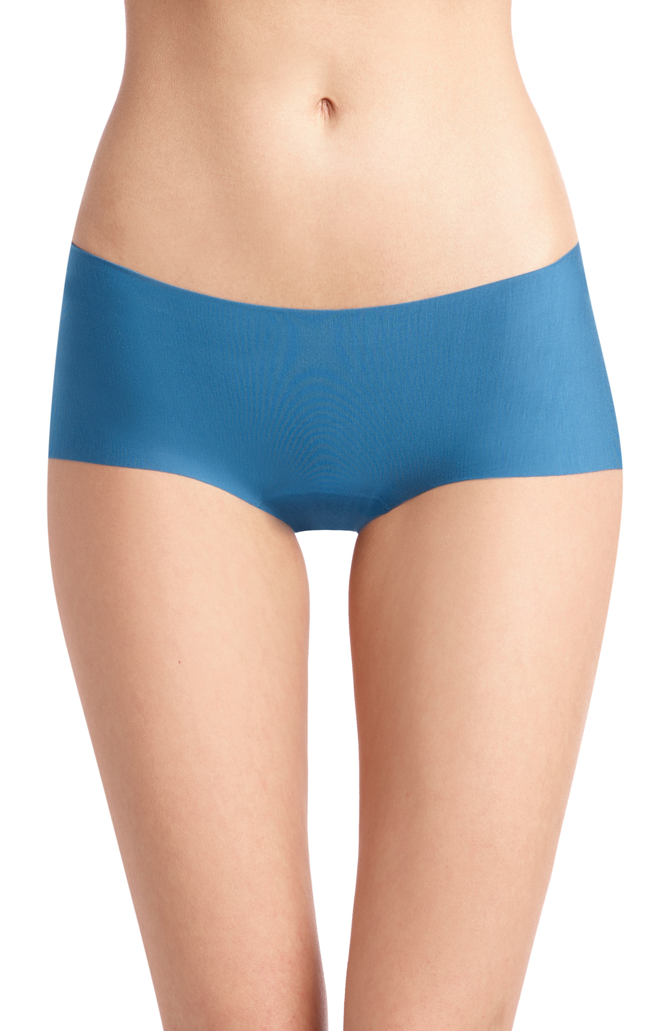 Butter Seamless Hipster Panties,                         Main,                         color, THAI BLUE