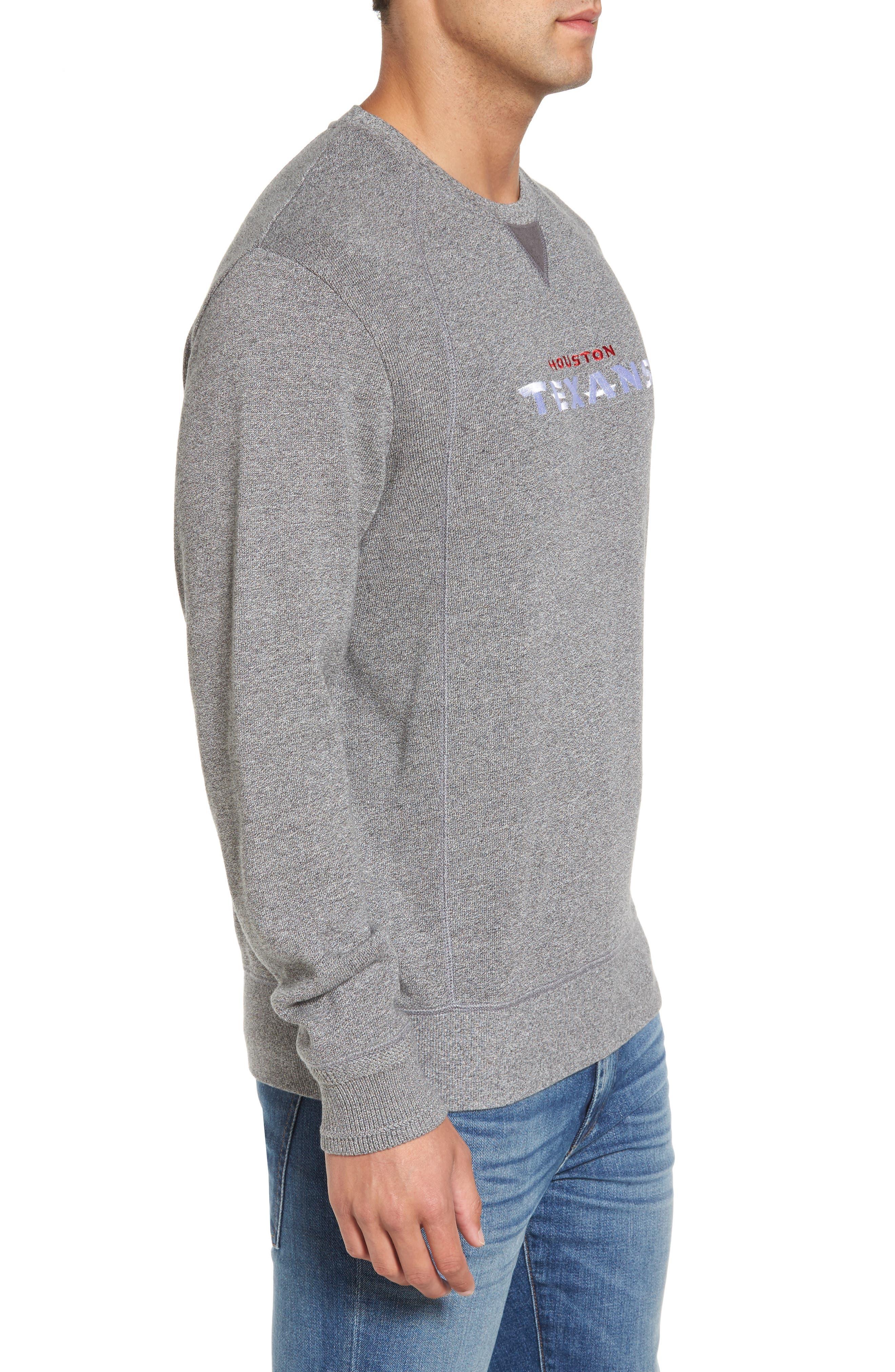 NFL Stitch of Liberty Embroidered Crewneck Sweatshirt,                             Alternate thumbnail 90, color,