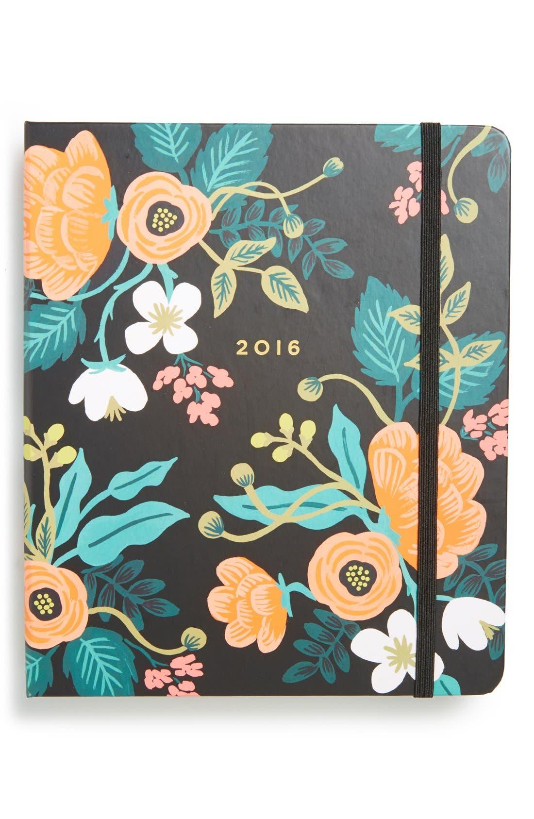 Floral 17-Month 2016 Planner,                         Main,                         color, 001