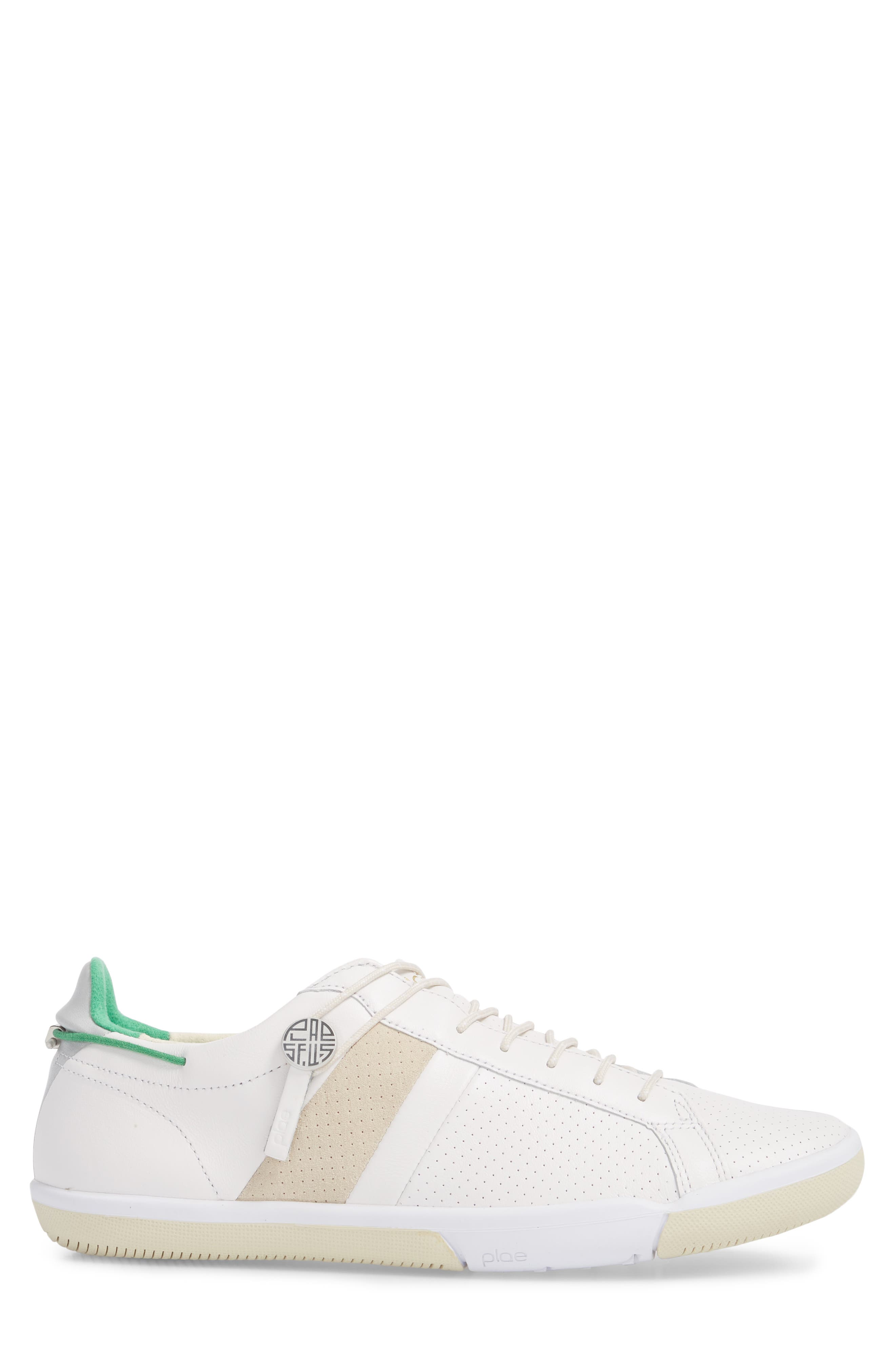 Mulberry Low Top Sneaker,                             Alternate thumbnail 3, color,                             WHITE