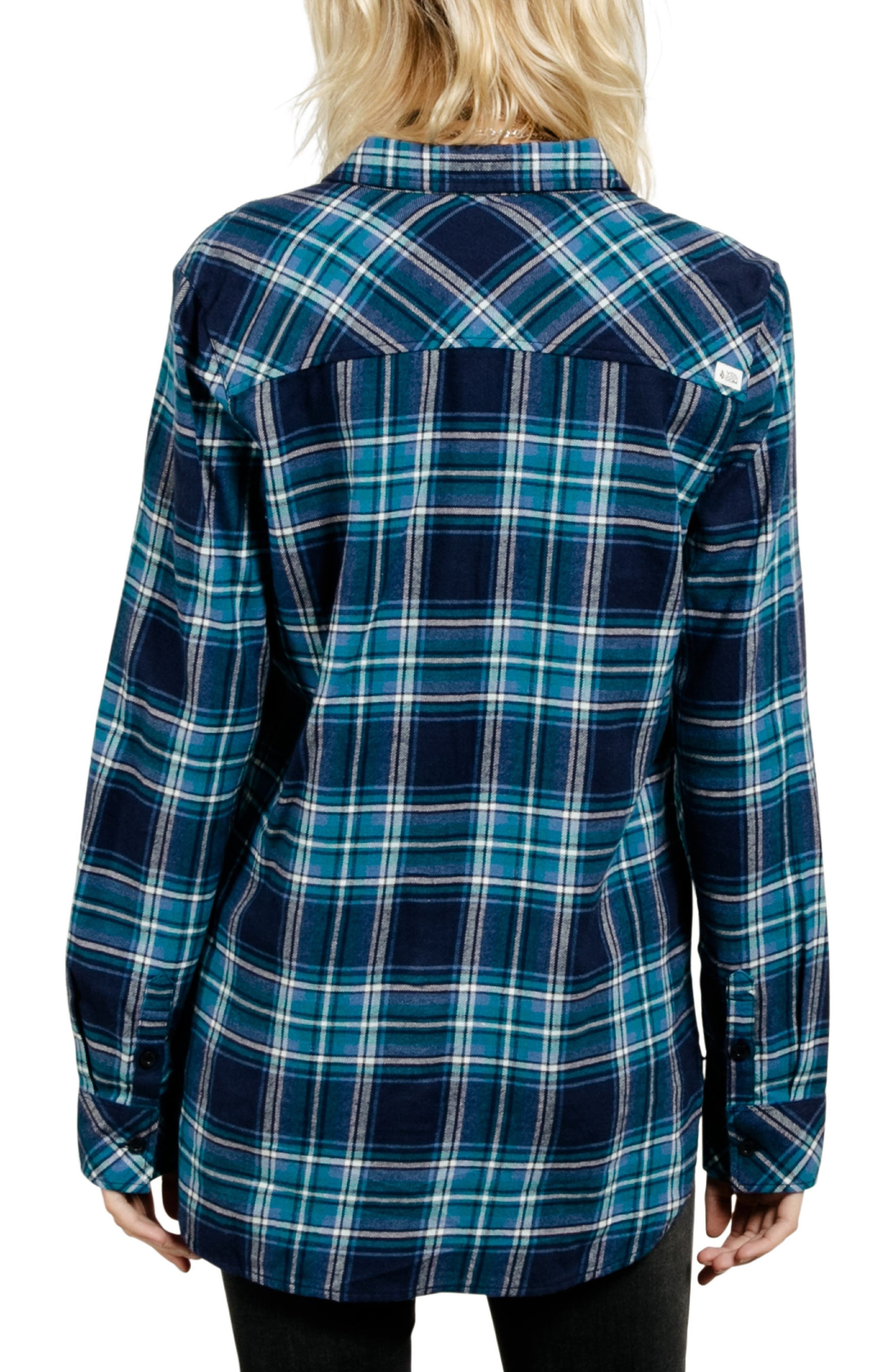 Fly High Flannel Top,                             Alternate thumbnail 2, color,                             407