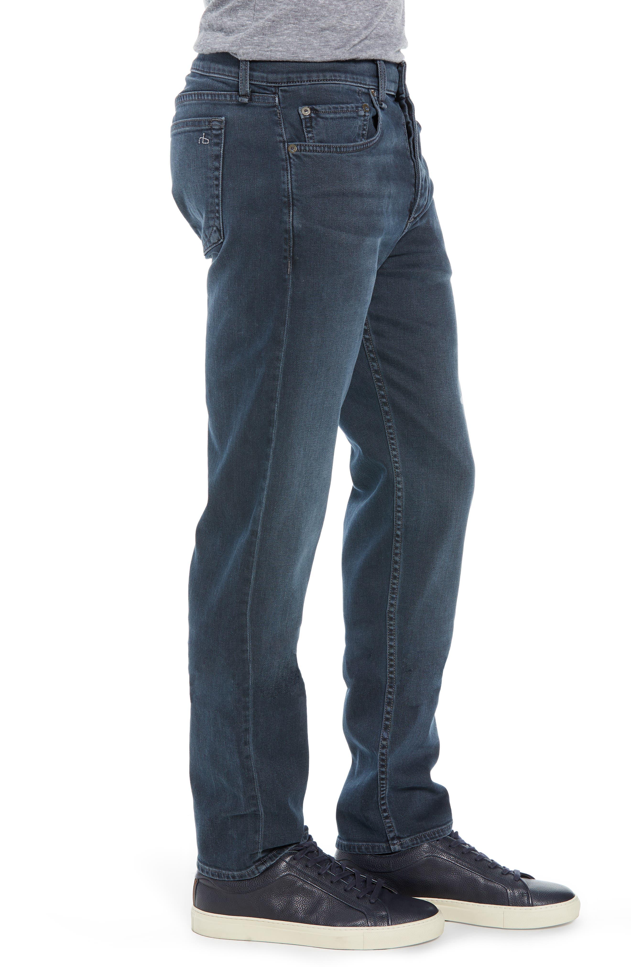 Fit 3 Slim Straight Leg Jeans,                             Alternate thumbnail 3, color,                             MINNA