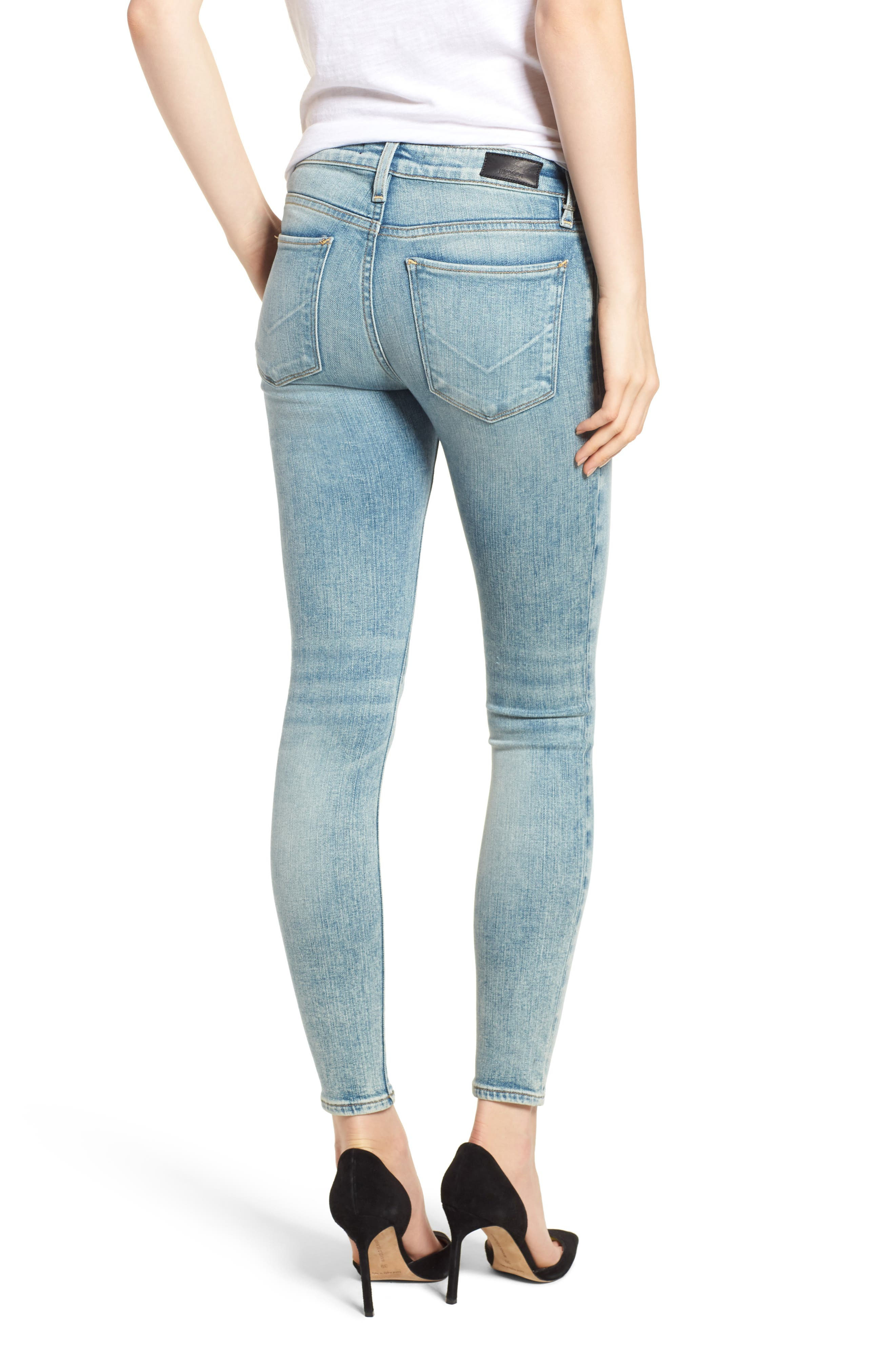 Krista Ankle Super Skinny Jeans,                             Alternate thumbnail 2, color,                             438