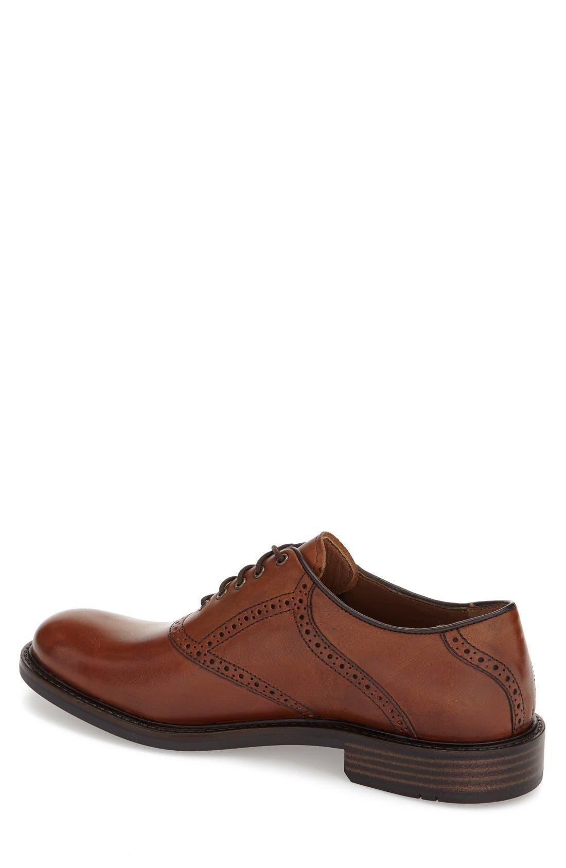 'Tabor' Saddle Shoe,                             Alternate thumbnail 2, color,                             MAHOGANY