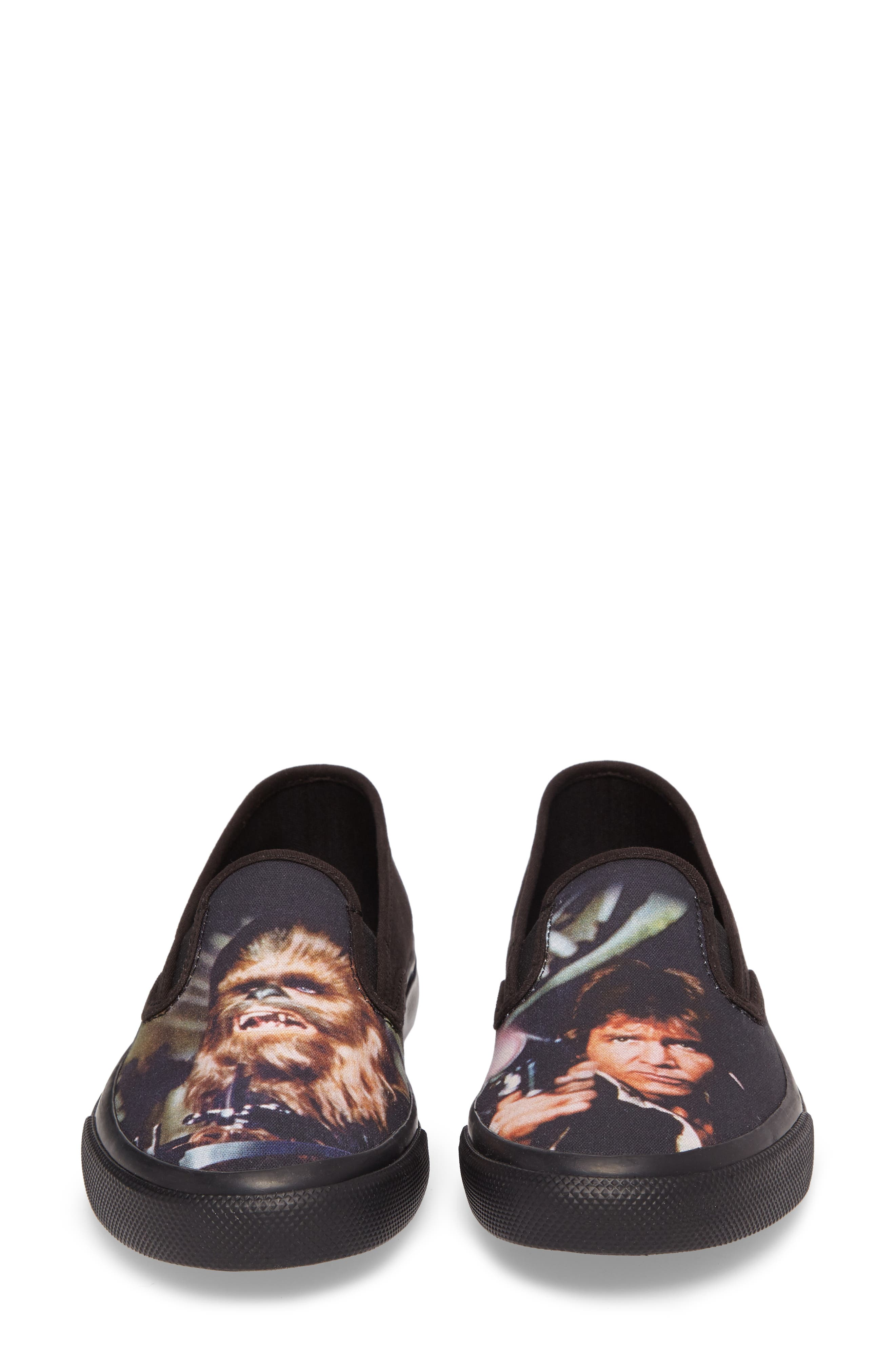 Star Wars - Chewie & Han Slip-On,                             Alternate thumbnail 4, color,                             001