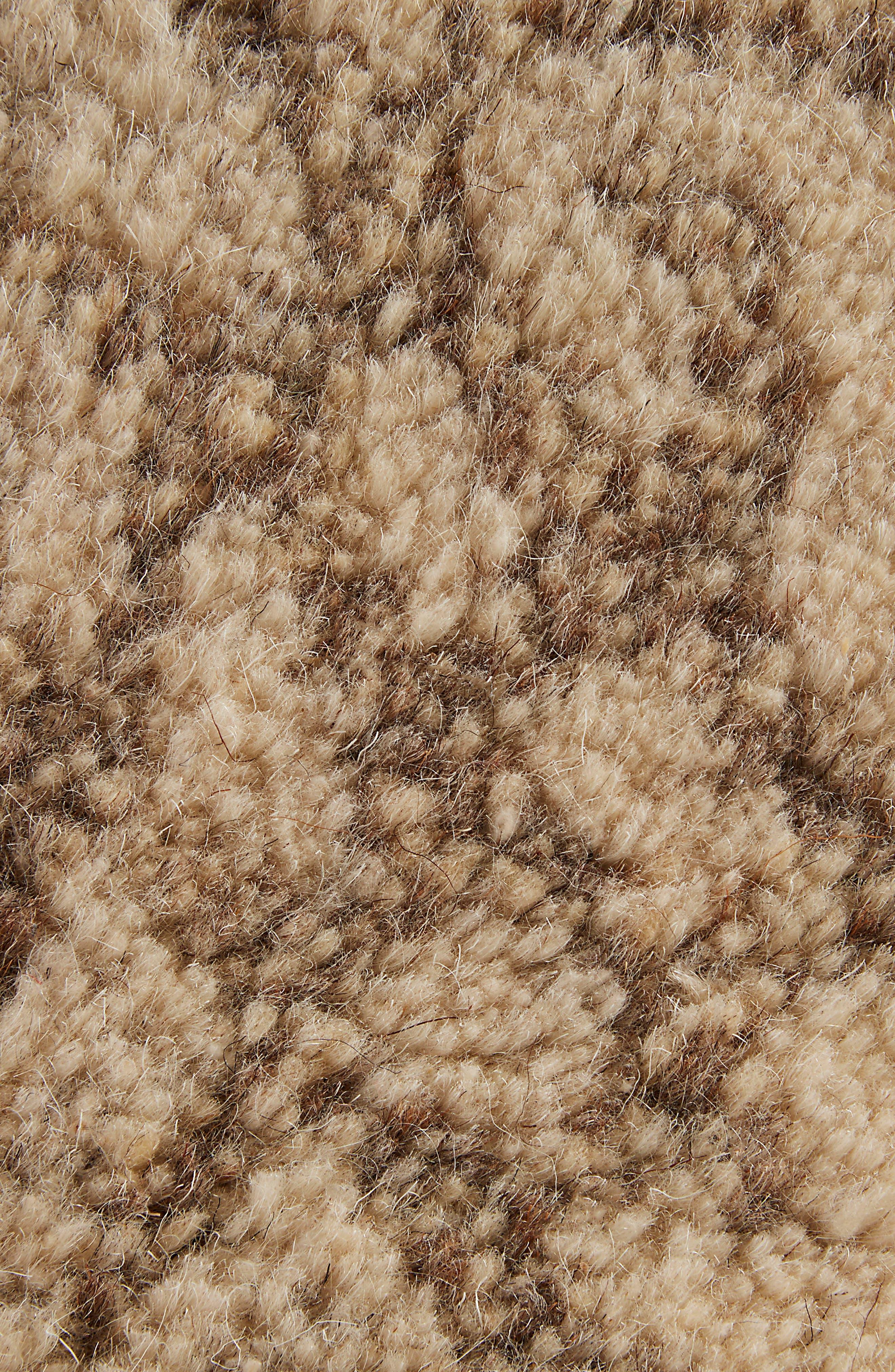 Geo Pattern Wool Rug,                             Alternate thumbnail 4, color,                             250