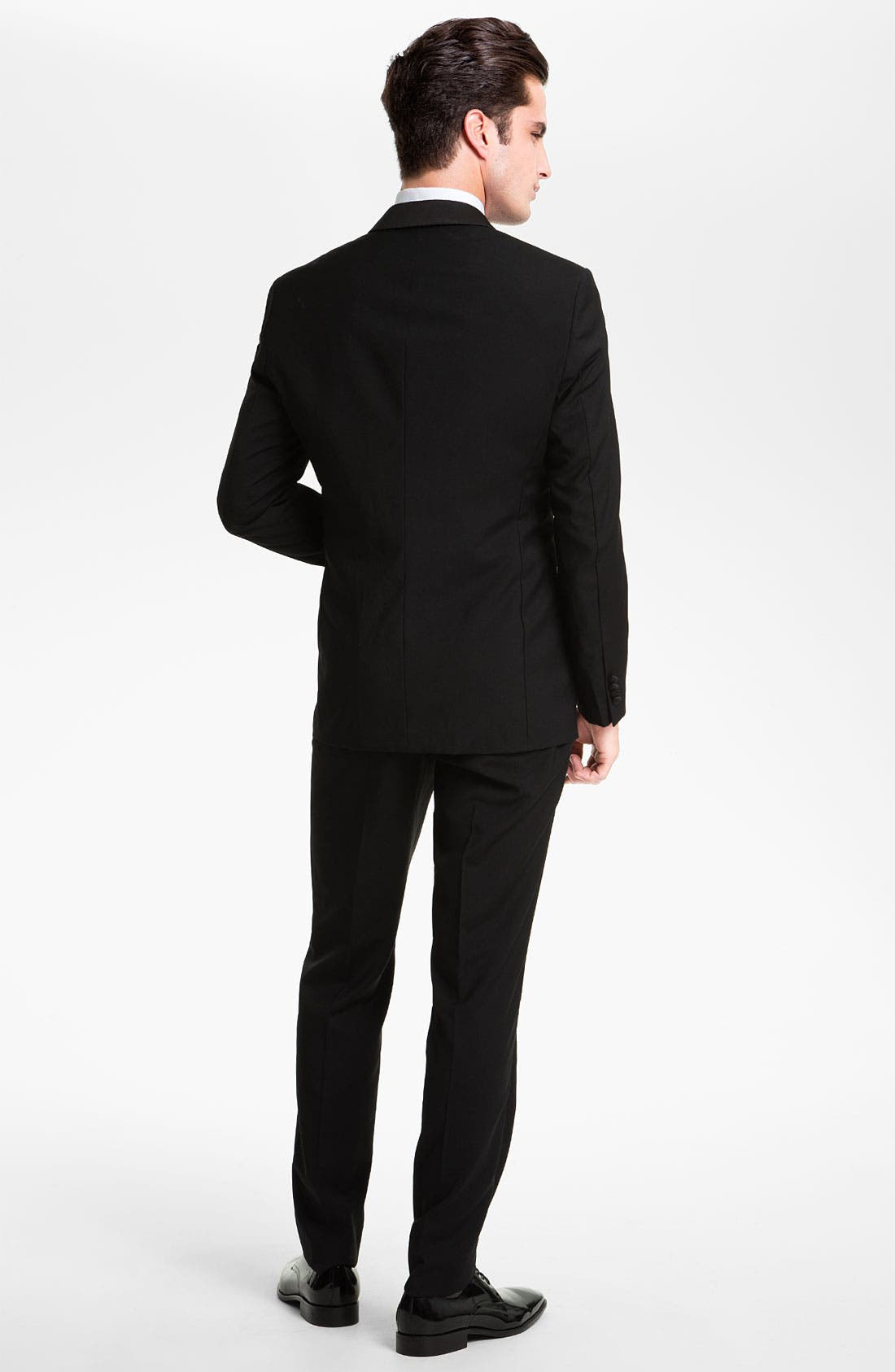 ZZDNUHUGO BOSS,                             BOSS 'Sky Gala' Shawl Lapel Tuxedo,                             Alternate thumbnail 3, color,                             001