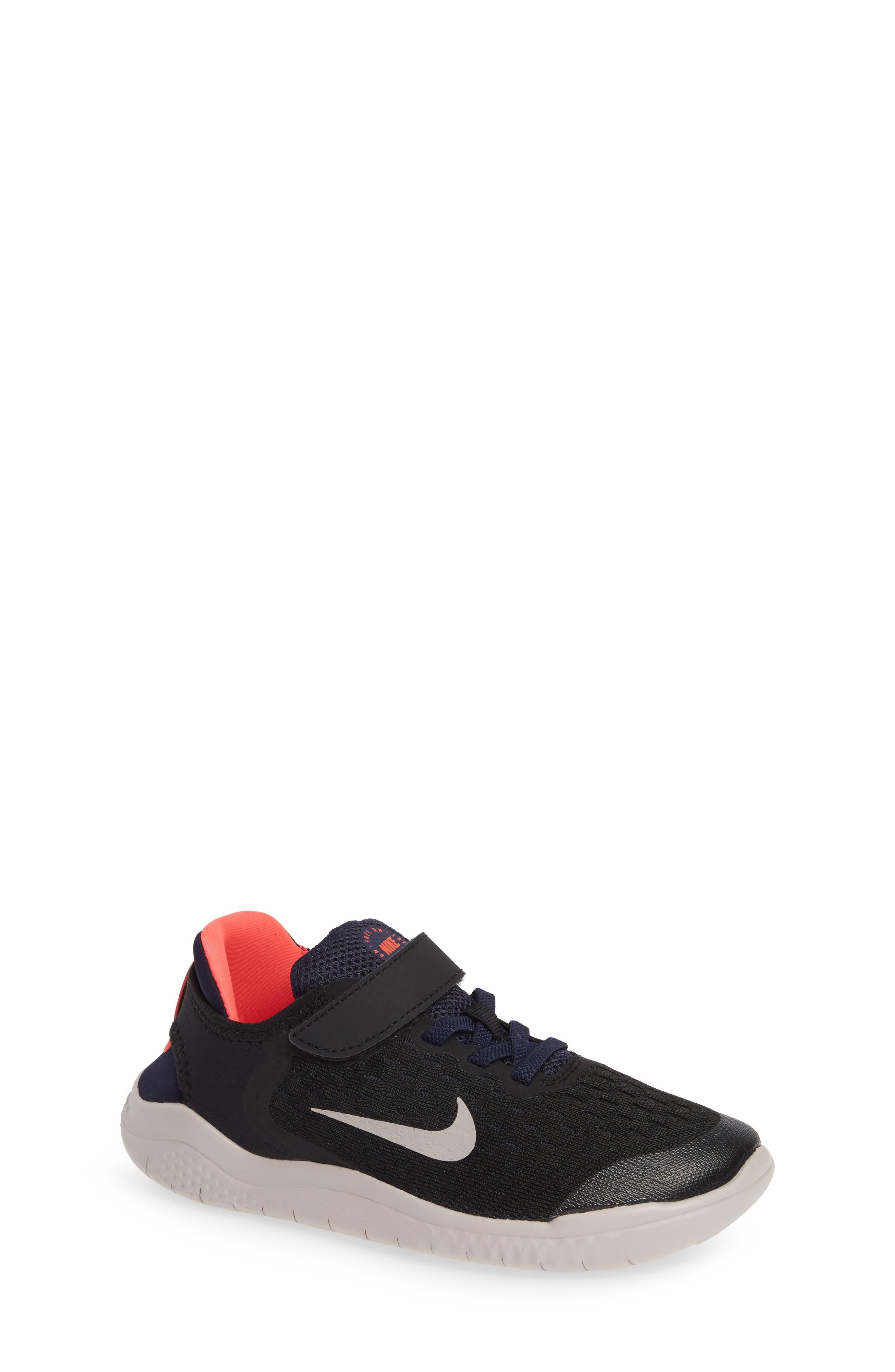 Free RN Running Shoe,                             Main thumbnail 1, color,                             BLACK MOON PARTICLE