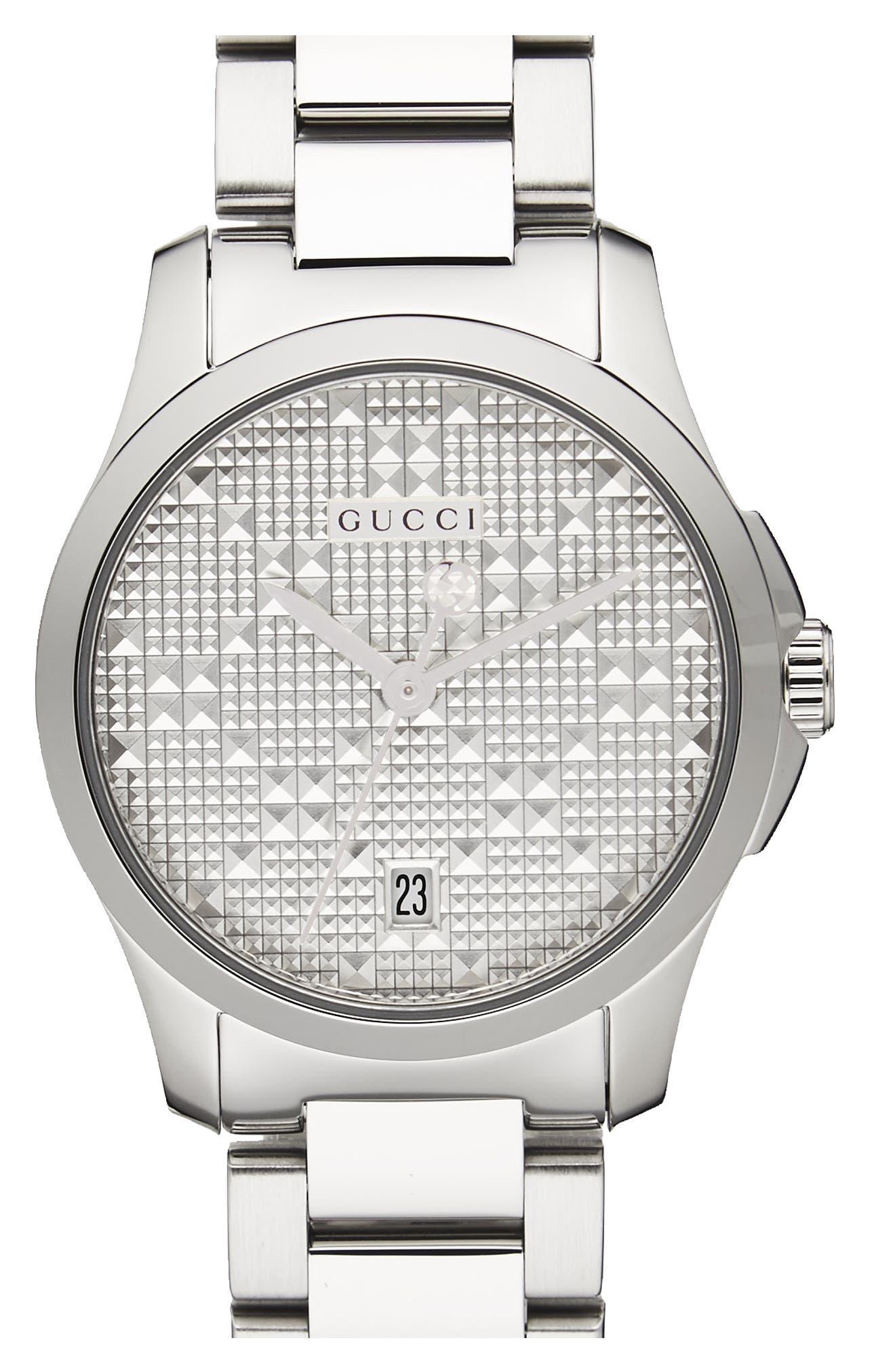 G-Timeless Bracelet Watch, 27mm,                             Main thumbnail 1, color,                             040