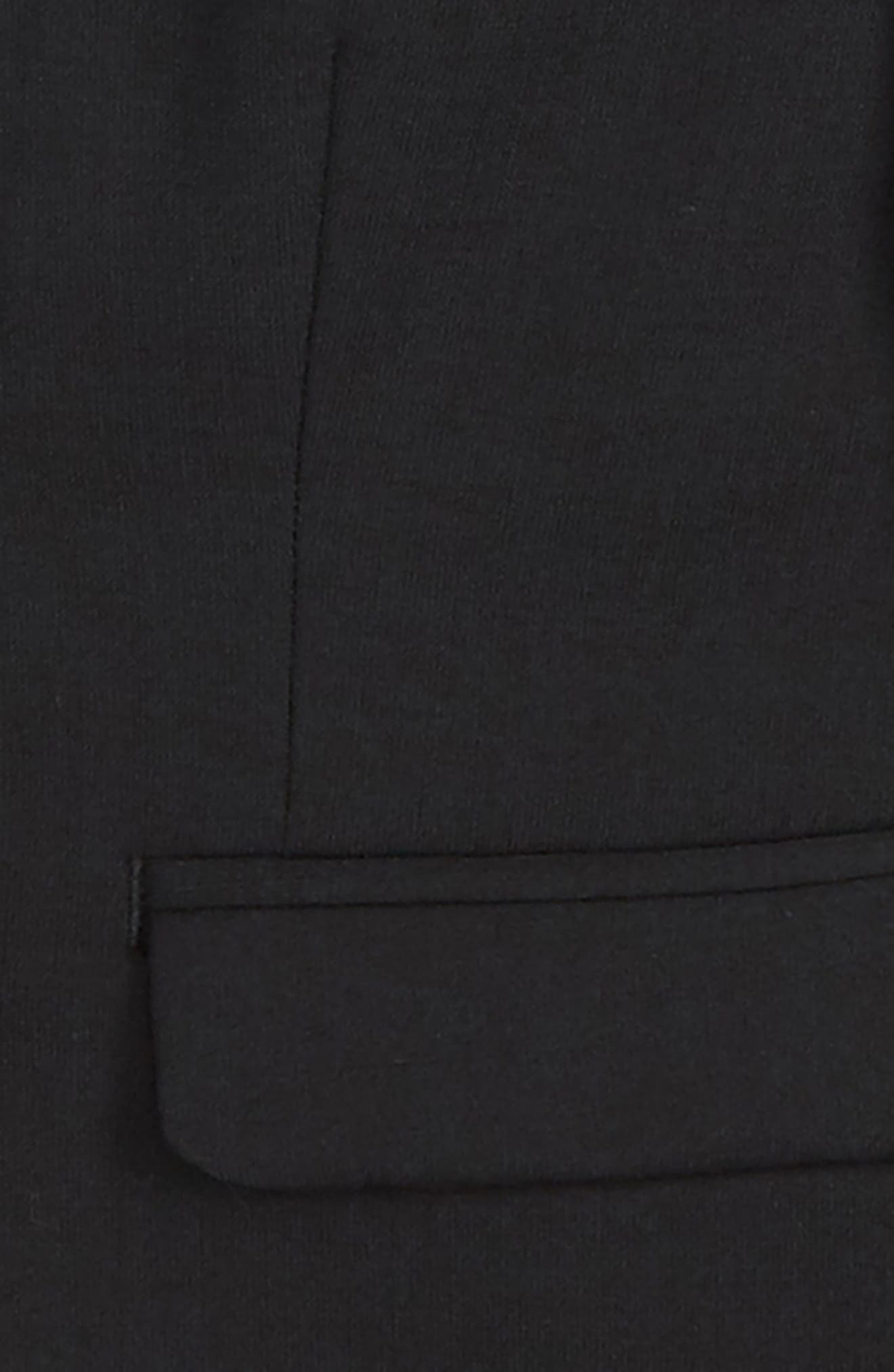 Solid Wool Blend Sport Coat,                             Alternate thumbnail 2, color,                             BLACK