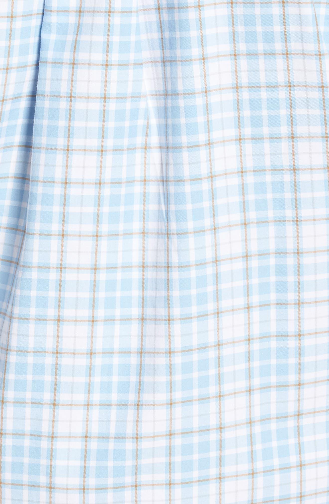PETER MILLAR,                             Belltown Regular Fit Tartan Sport Shirt,                             Alternate thumbnail 5, color,                             400