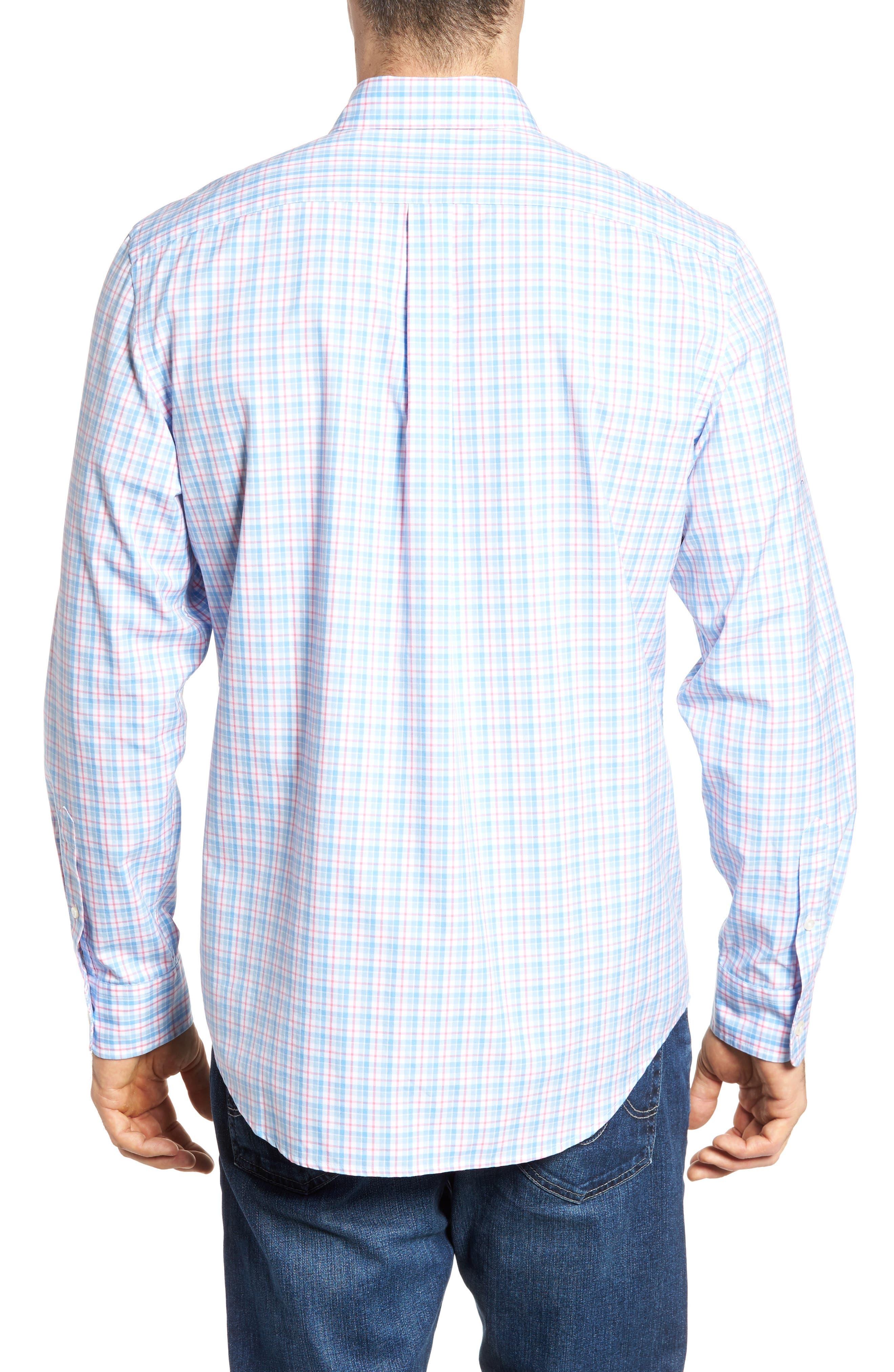 Off Island Classic Fit Plaid Sport Shirt,                             Alternate thumbnail 2, color,                             650