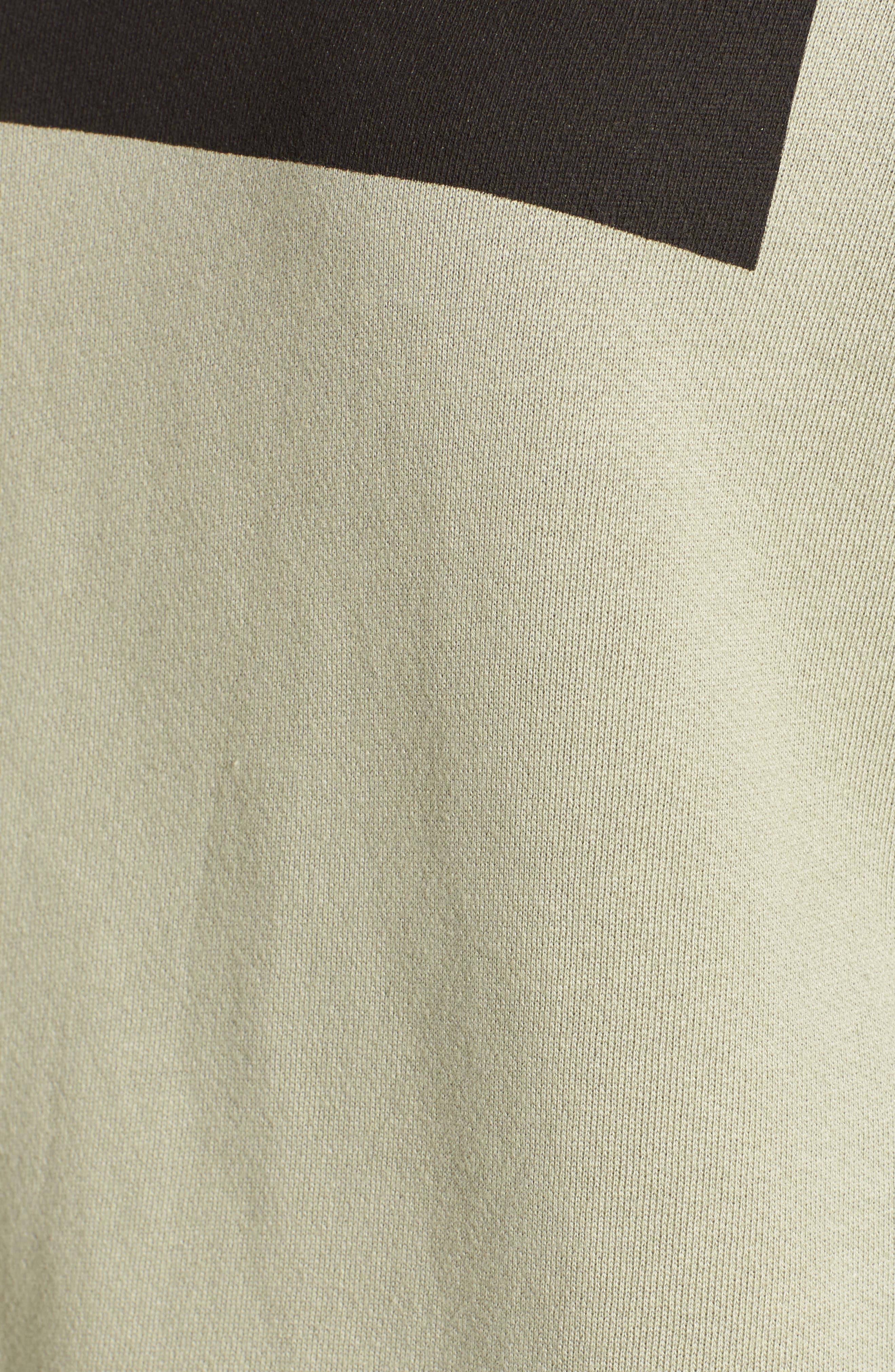 Army of Lovers Side Zip Sweatshirt,                             Alternate thumbnail 6, color,                             301