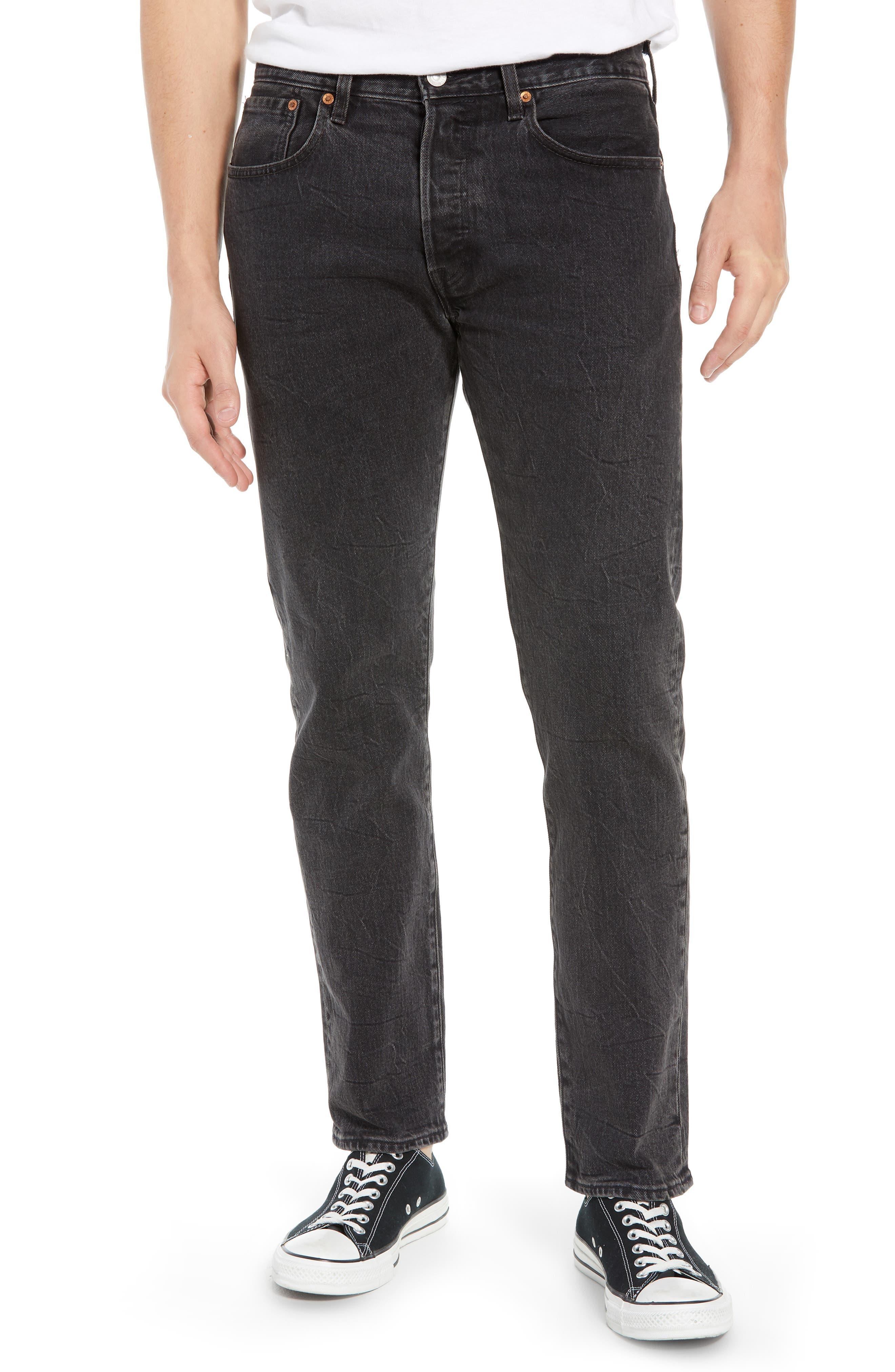 x Justin Timberlake 501<sup>®</sup> Slim Taper Jeans,                         Main,                         color, WASHED BLACK