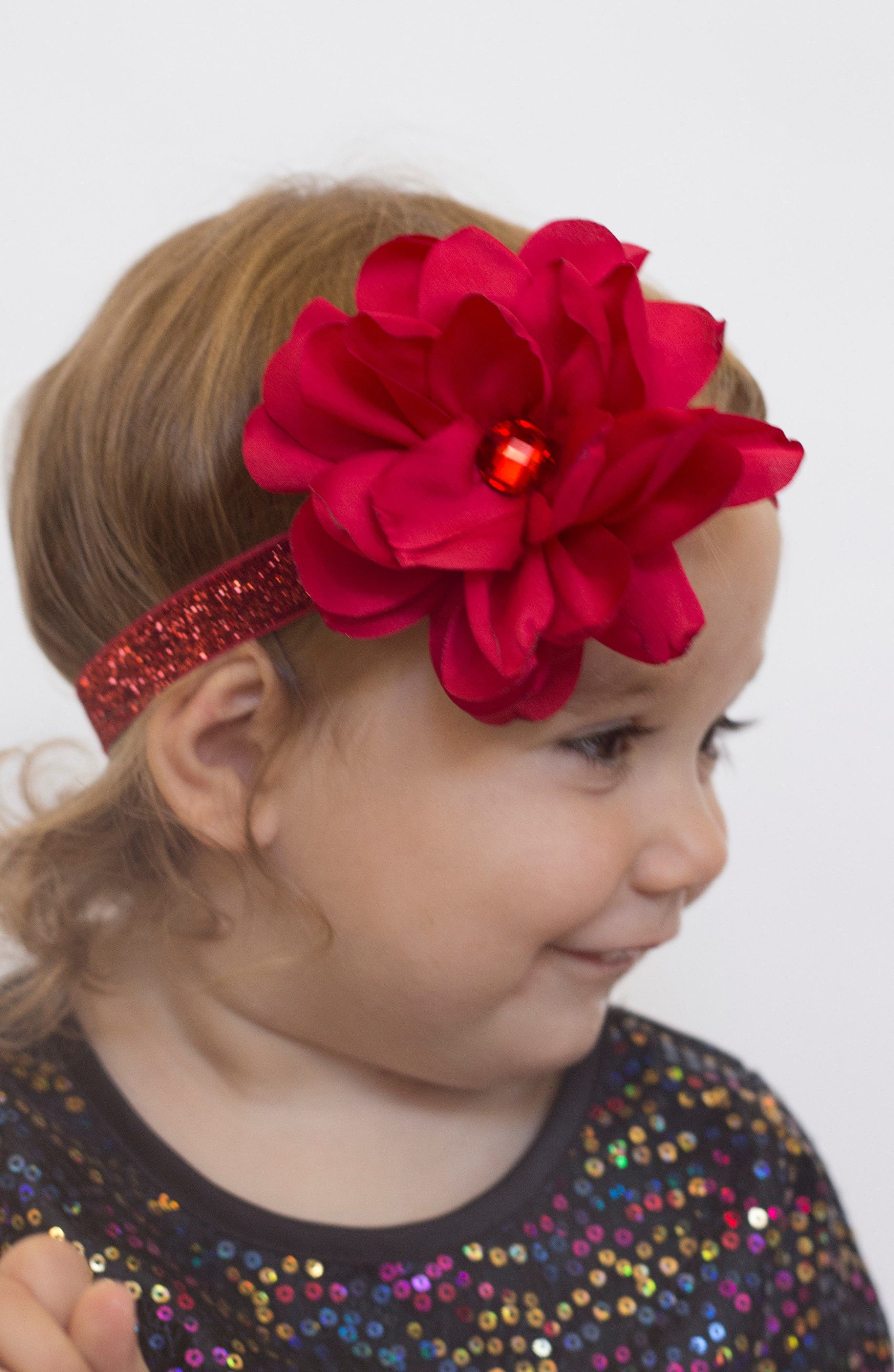 Floral Headband,                             Alternate thumbnail 7, color,