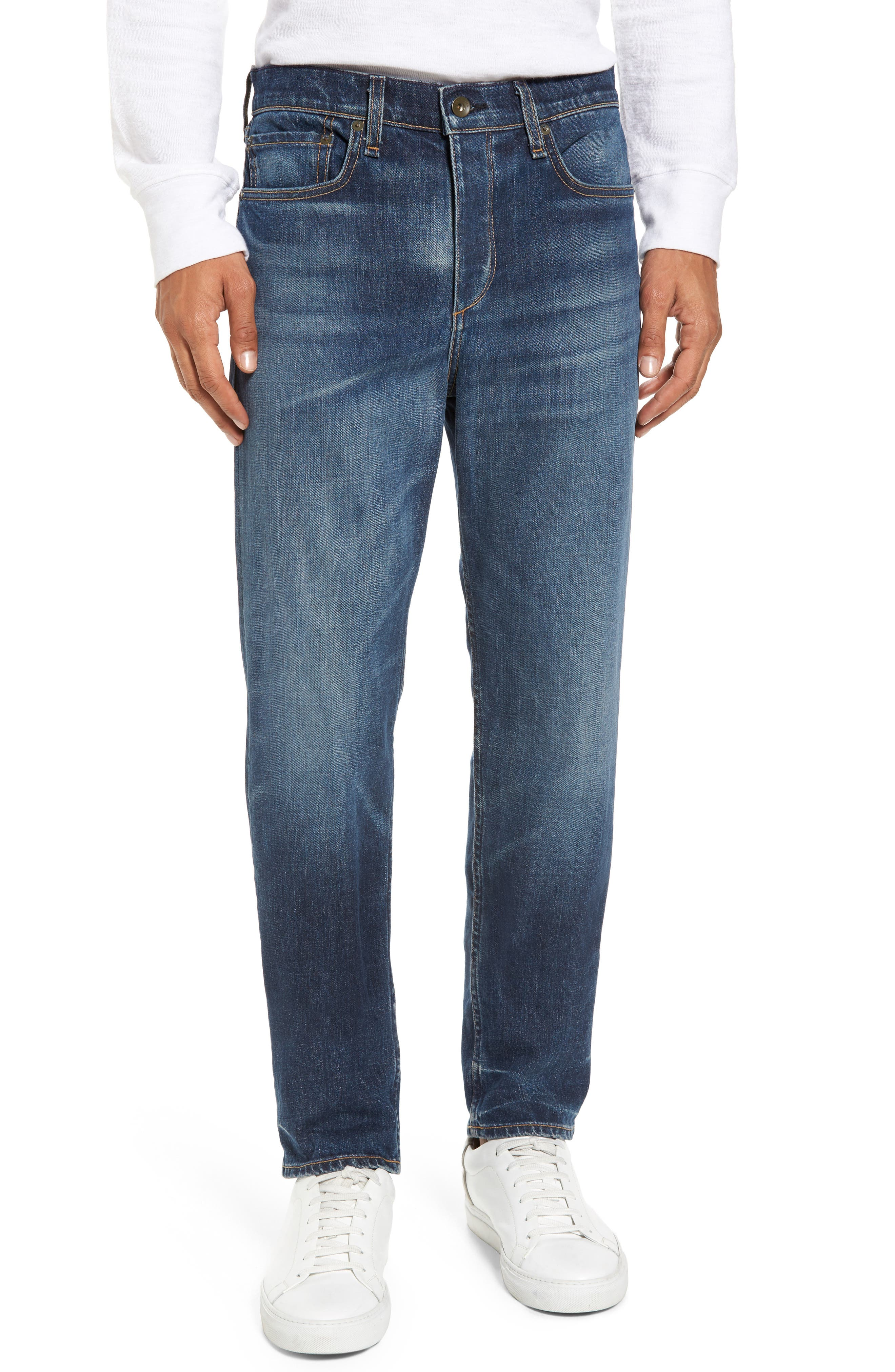 Fit 3 Slim Straight Leg Jeans,                         Main,                         color, LINDEN